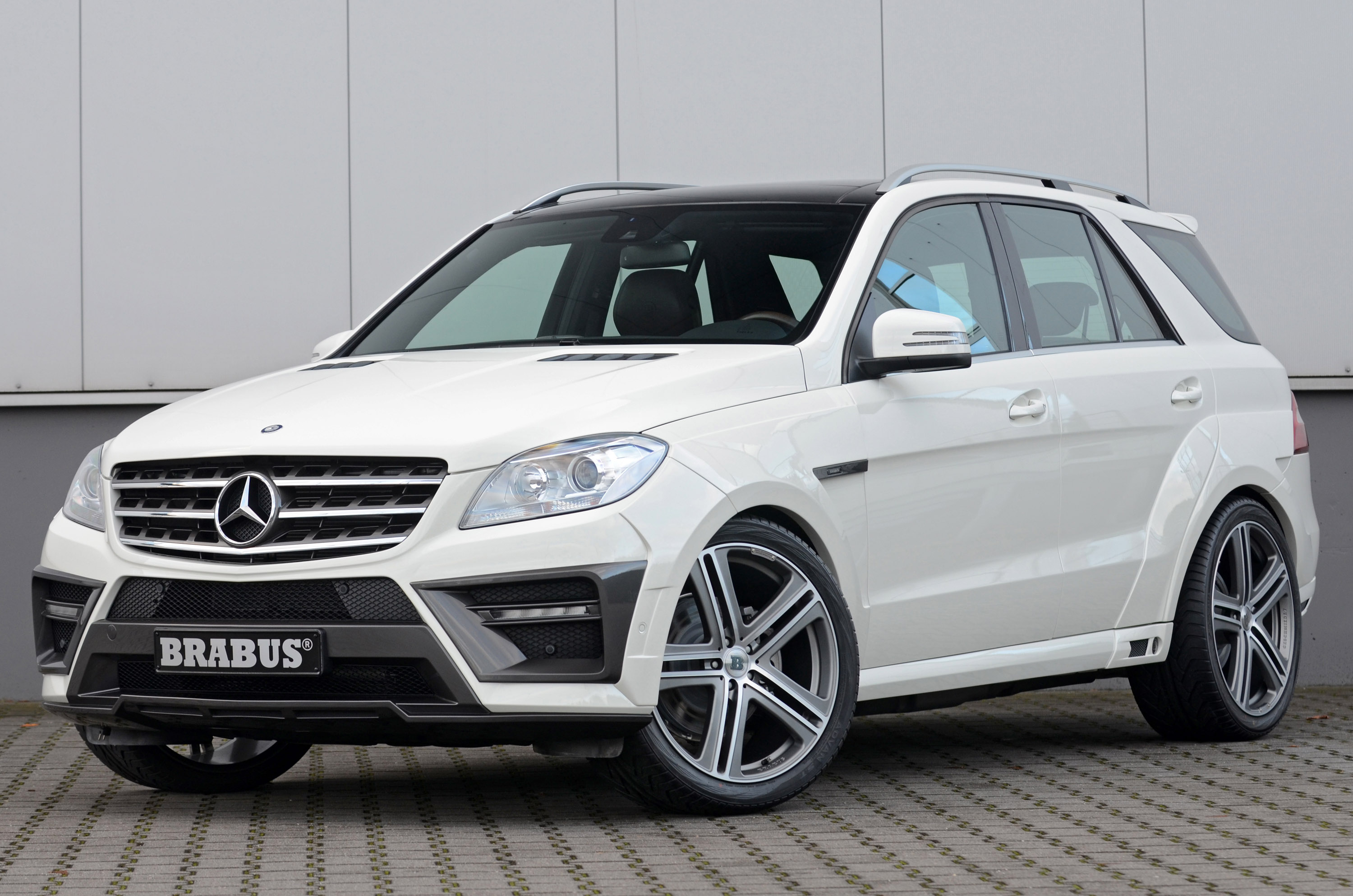 Brabus 2012 mercedes benz ml widestar for Mercedes benz cars