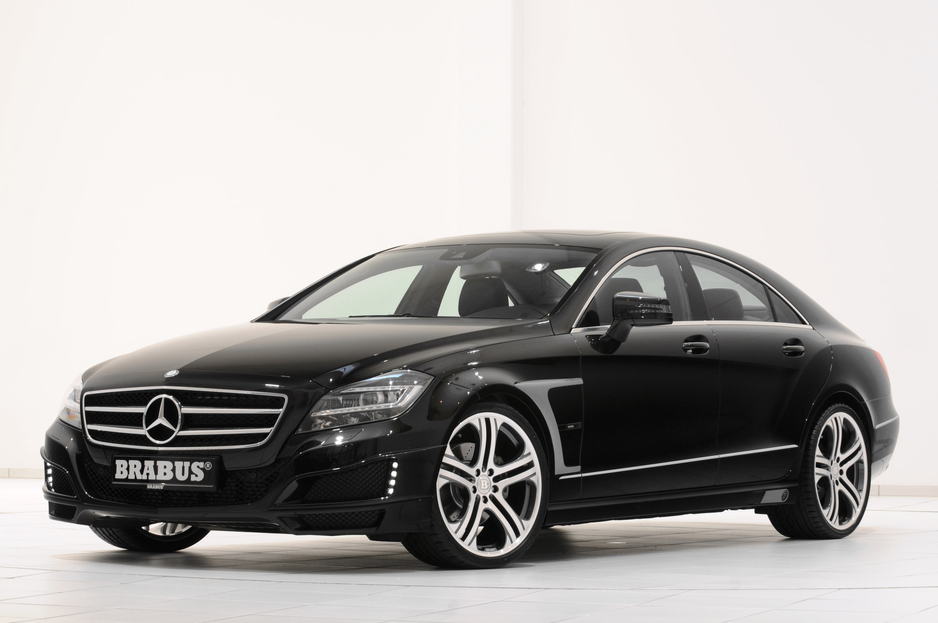 Brabus 2012 mercedes cls coupe for Mercedes benz cls 300 coupe