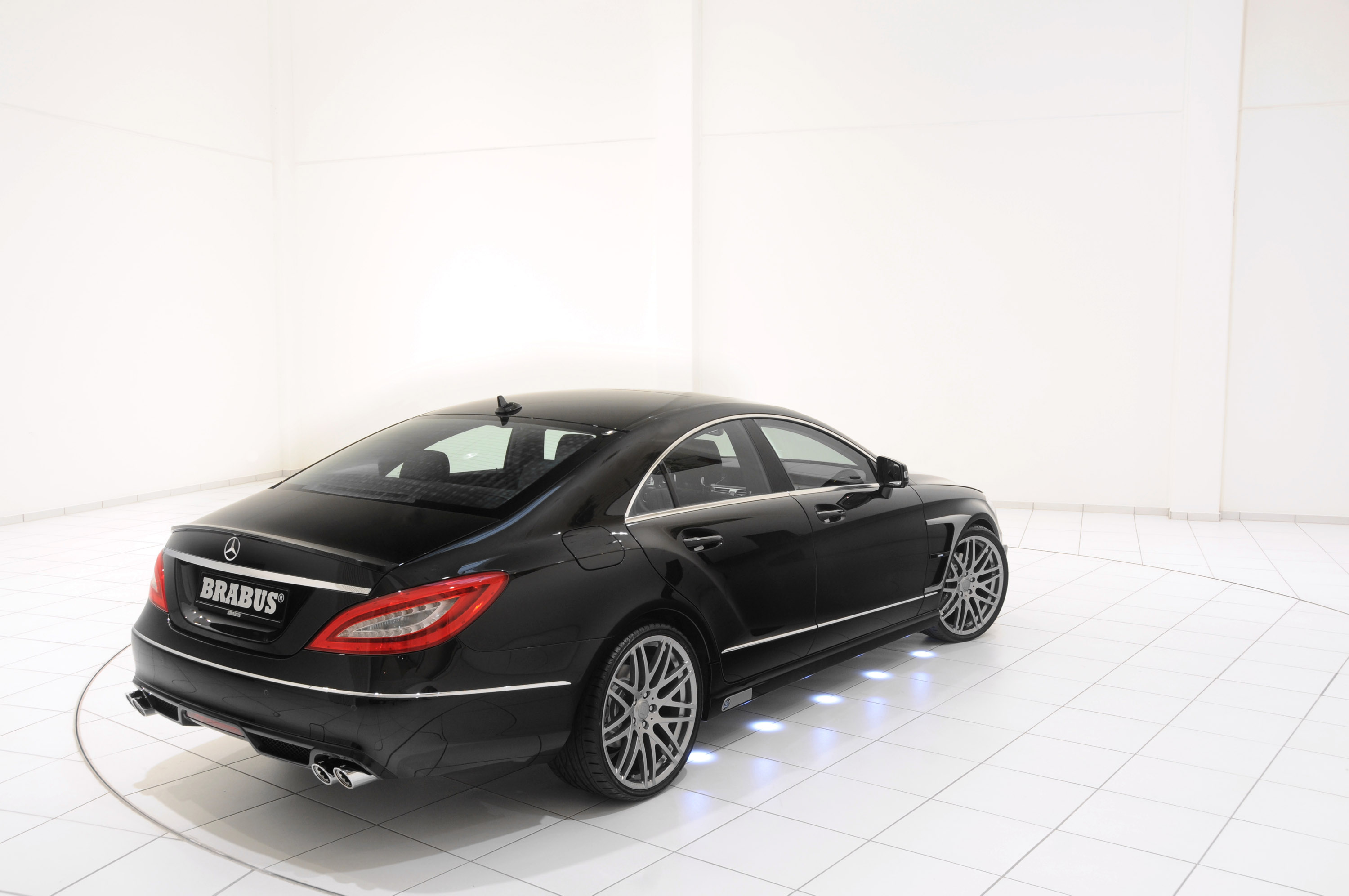 Brabus 2012 mercedes cls coupe for 2012 mercedes benz cls