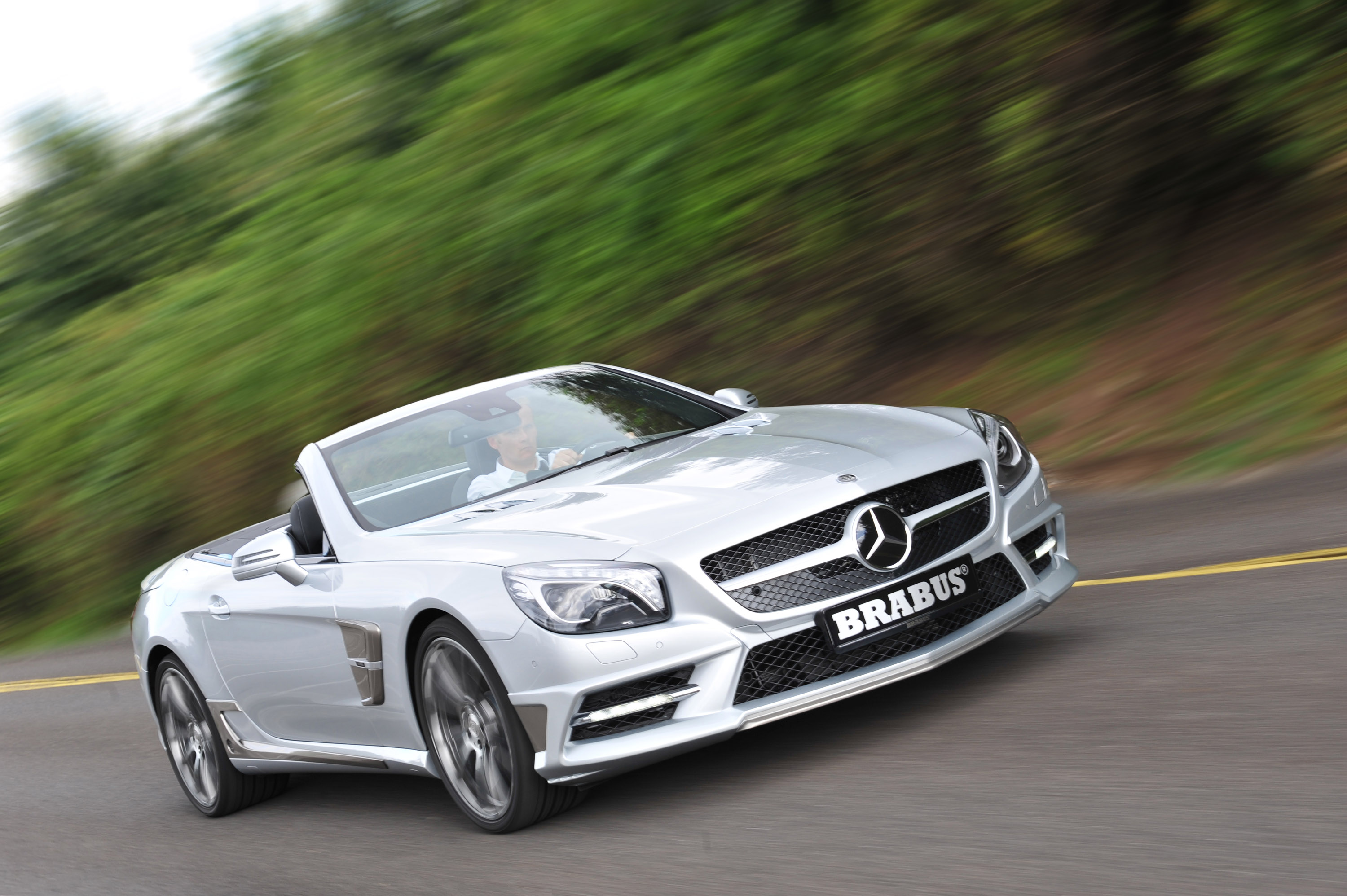 Brabus 2013 Mercedes Sl Class Beast On Wheels