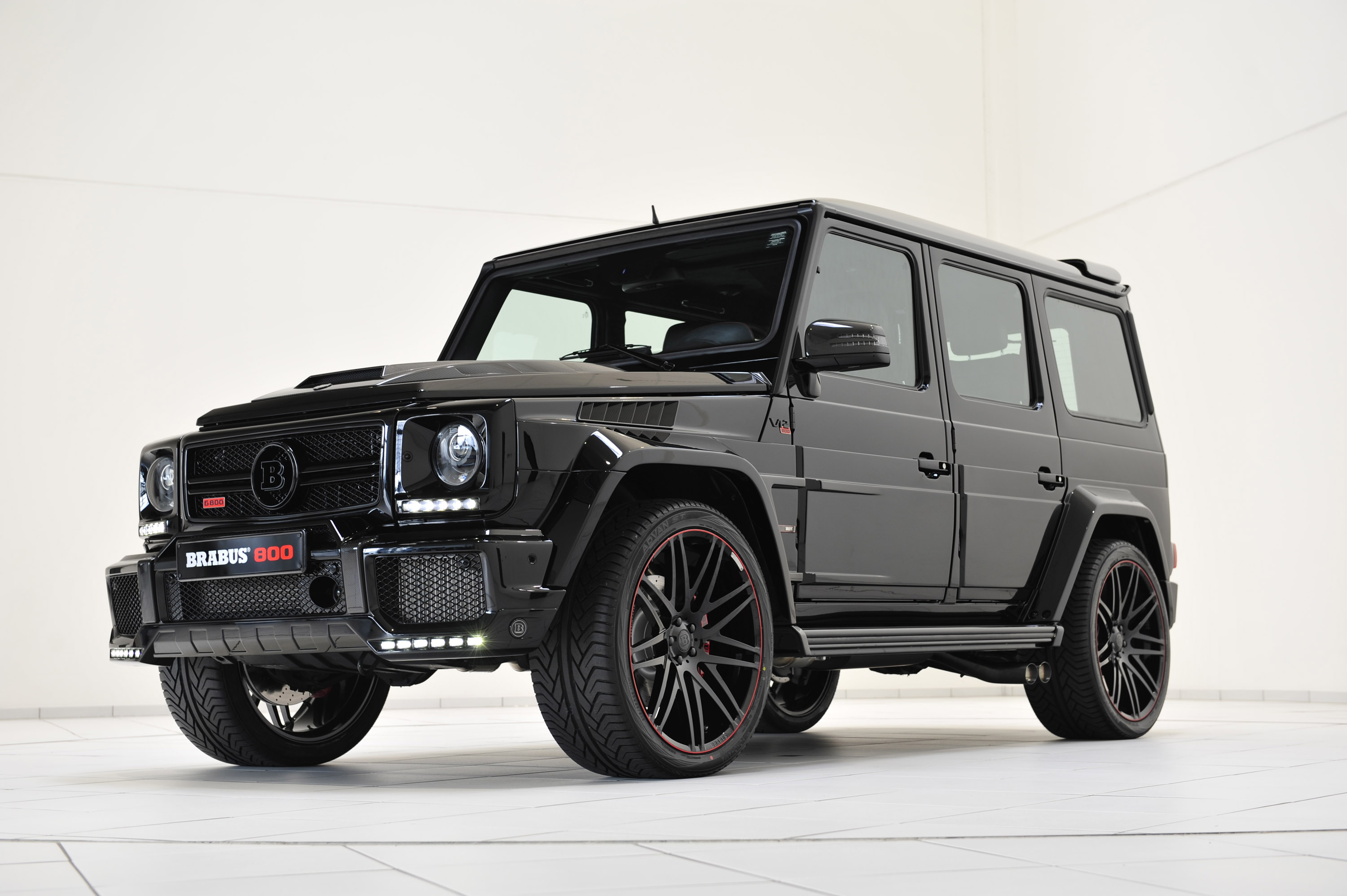 Brabus 800 ibusiness based on mercedes benz g65 amg for Mercedes benz g class brabus