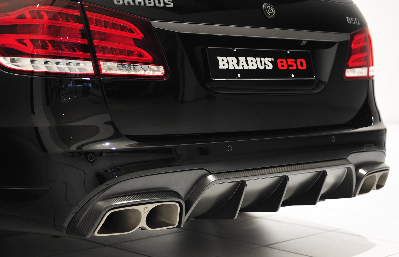 Brabus 850 6 0 Biturbo Mercedes Benz E63 Amg Picture 91896