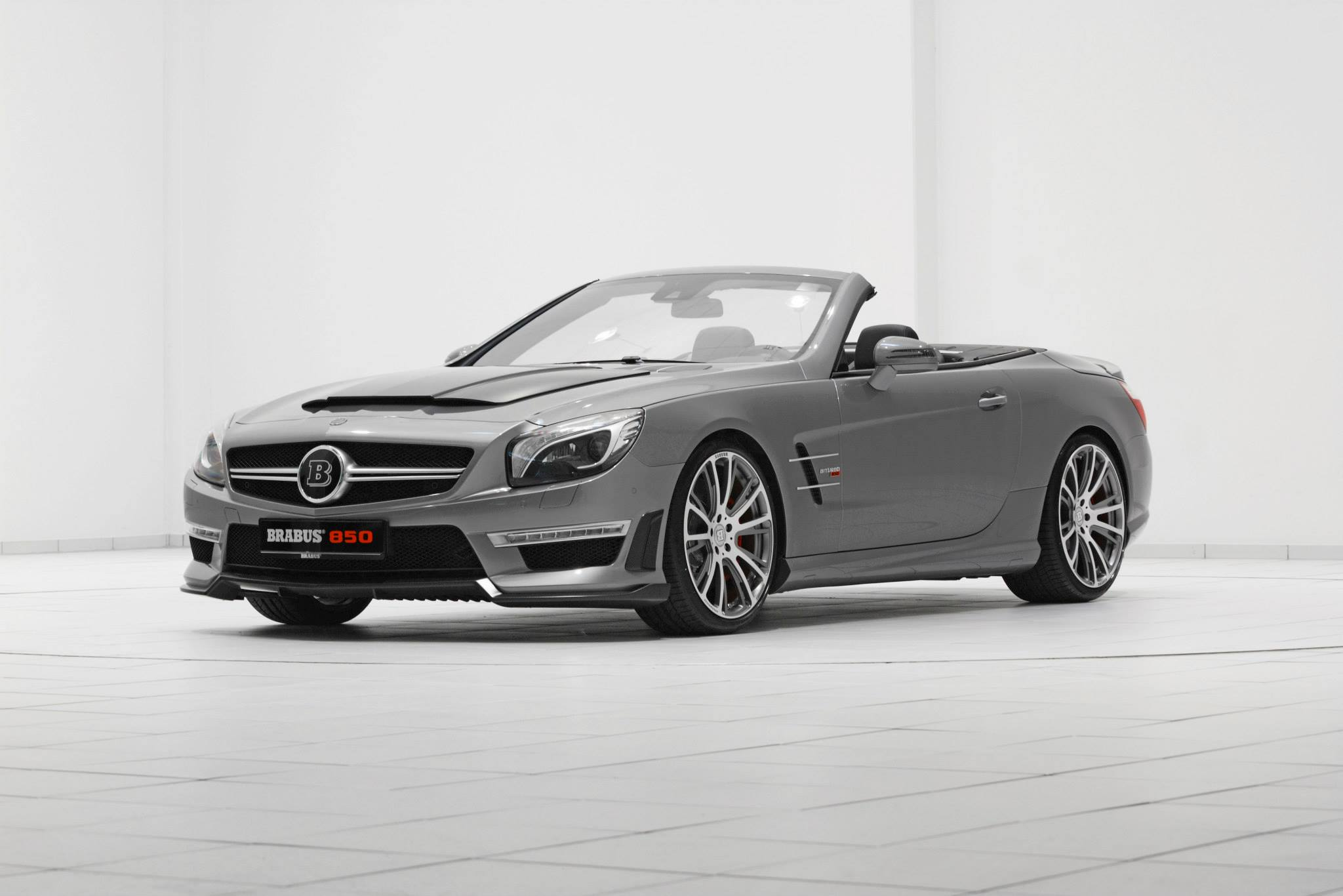 Brabus 850 mercedes benz sl63 amg 850hp and 1450nm for Mercedes benz 850