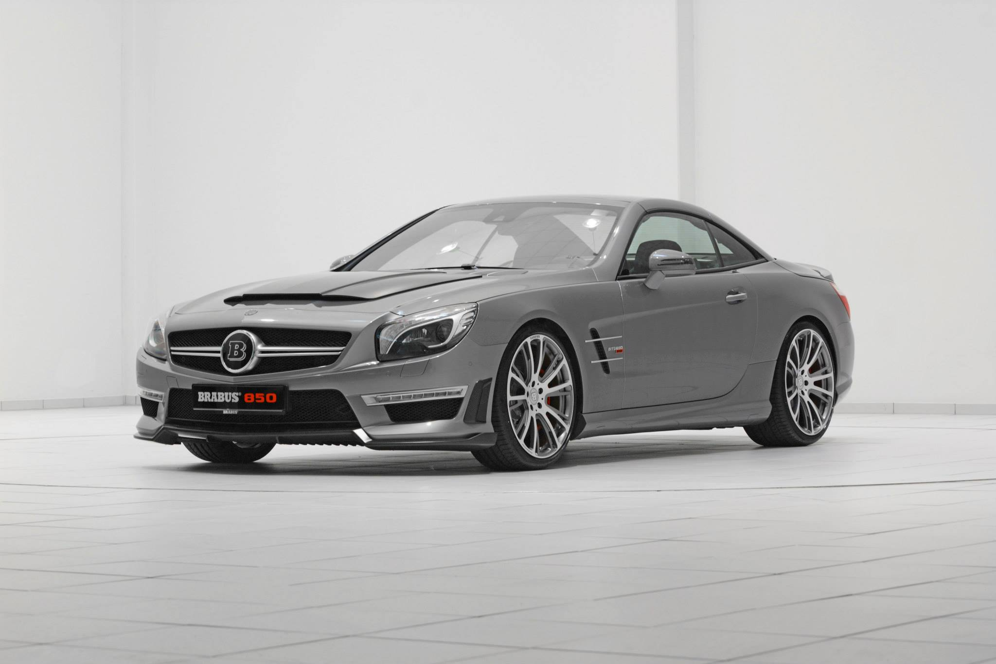 Brabus 850 Mercedes Benz Sl63 Amg 850hp And 1450nm
