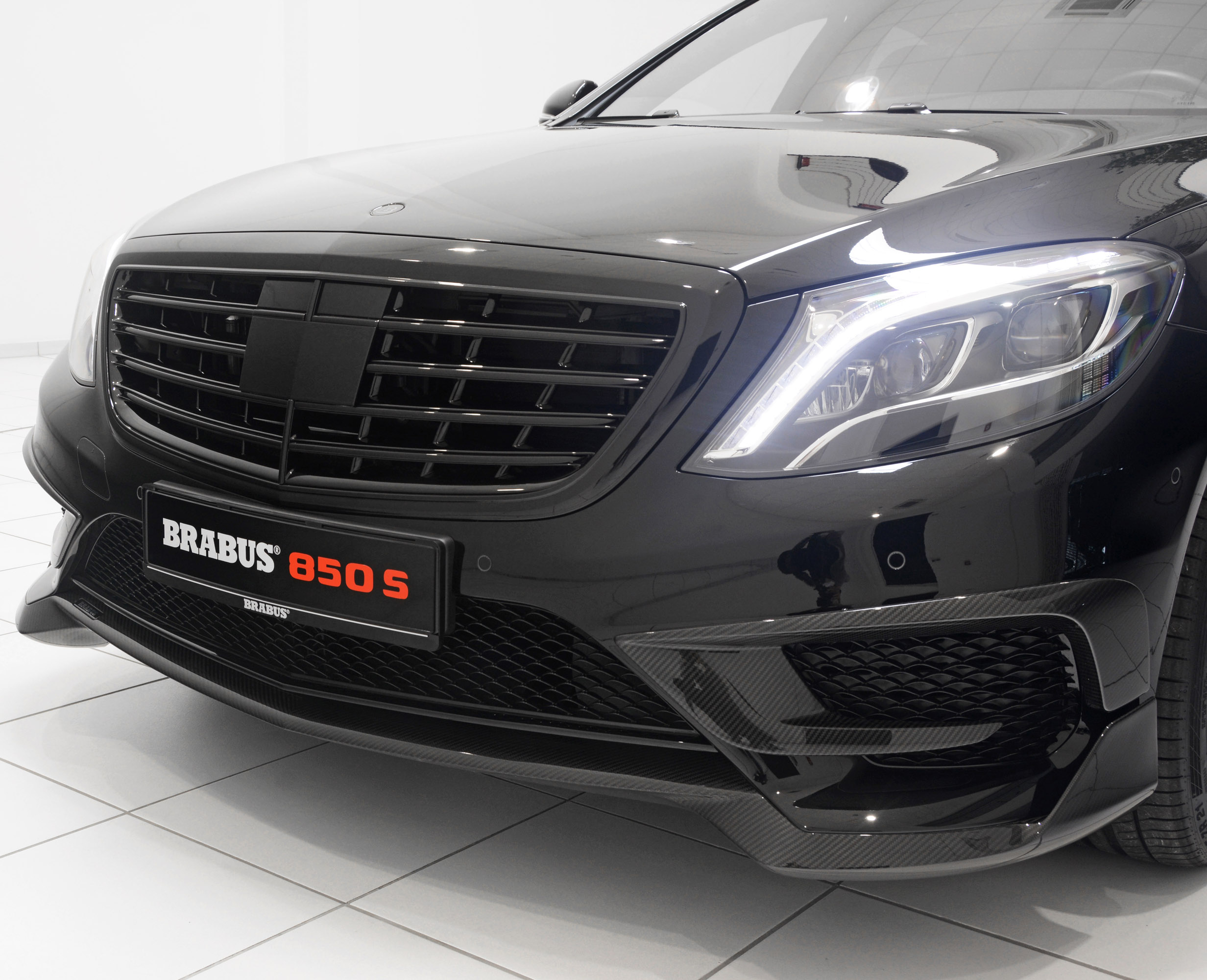 Brabus 850 S Based On 2014 Mercedes Benz S 63 Amg