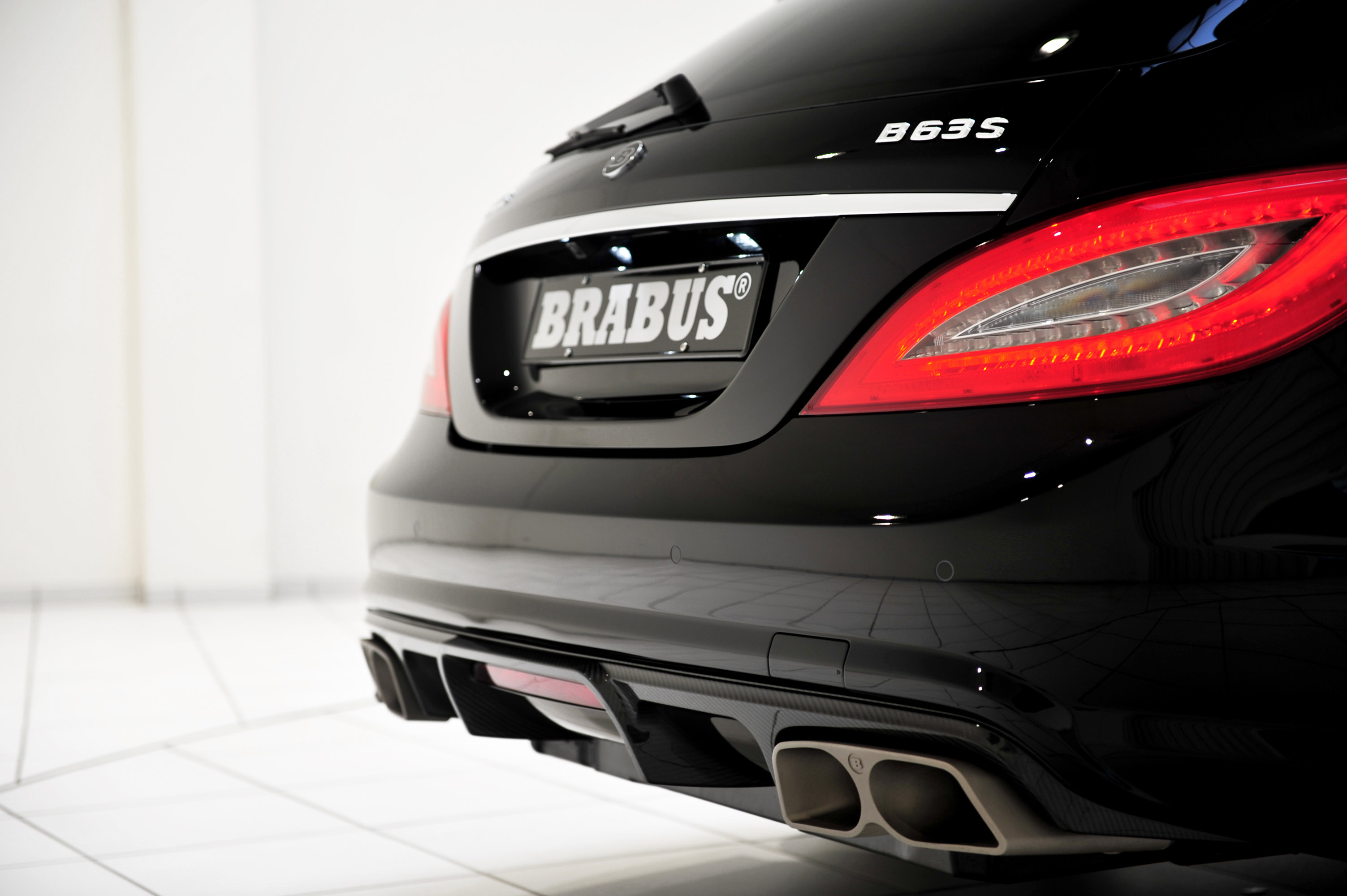 Car Brake Pads >> BRABUS B63S 730 Based on Mercedes-Benz CLS 63 AMG