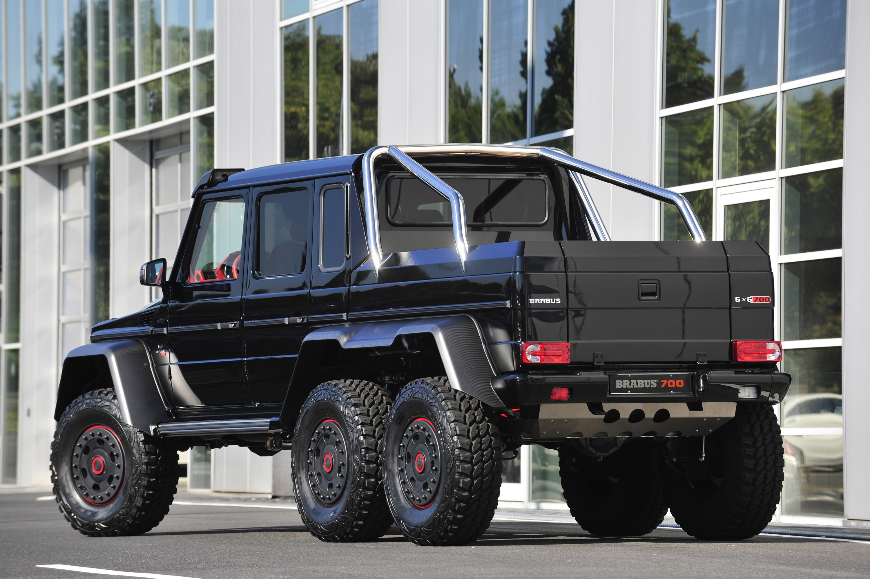 Brabus b63s mercedes benz g class 6x6 for Mercedes benz g class brabus