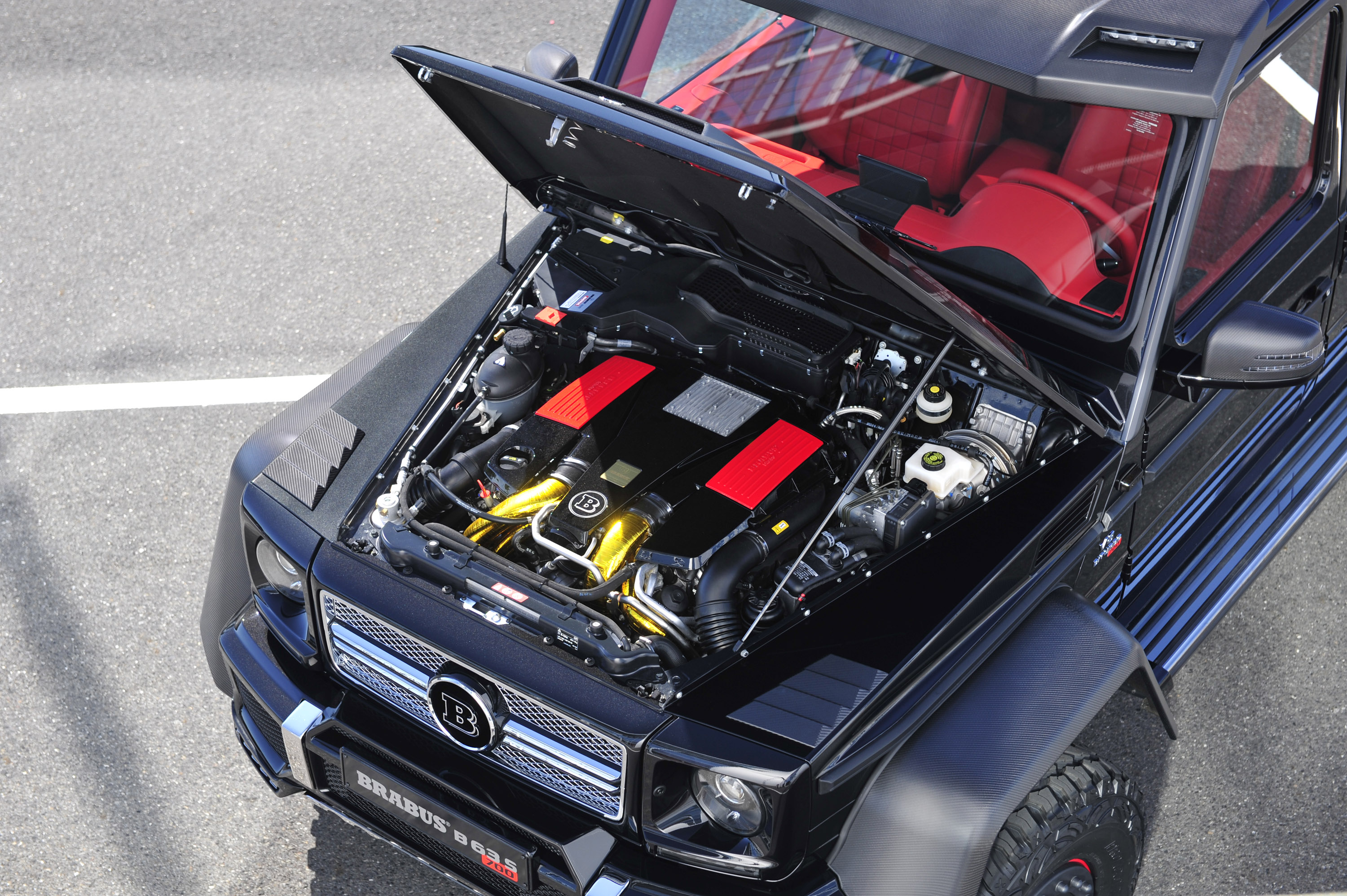 Brabus B63s Mercedes Benz G Class 6x6 Picture 89930