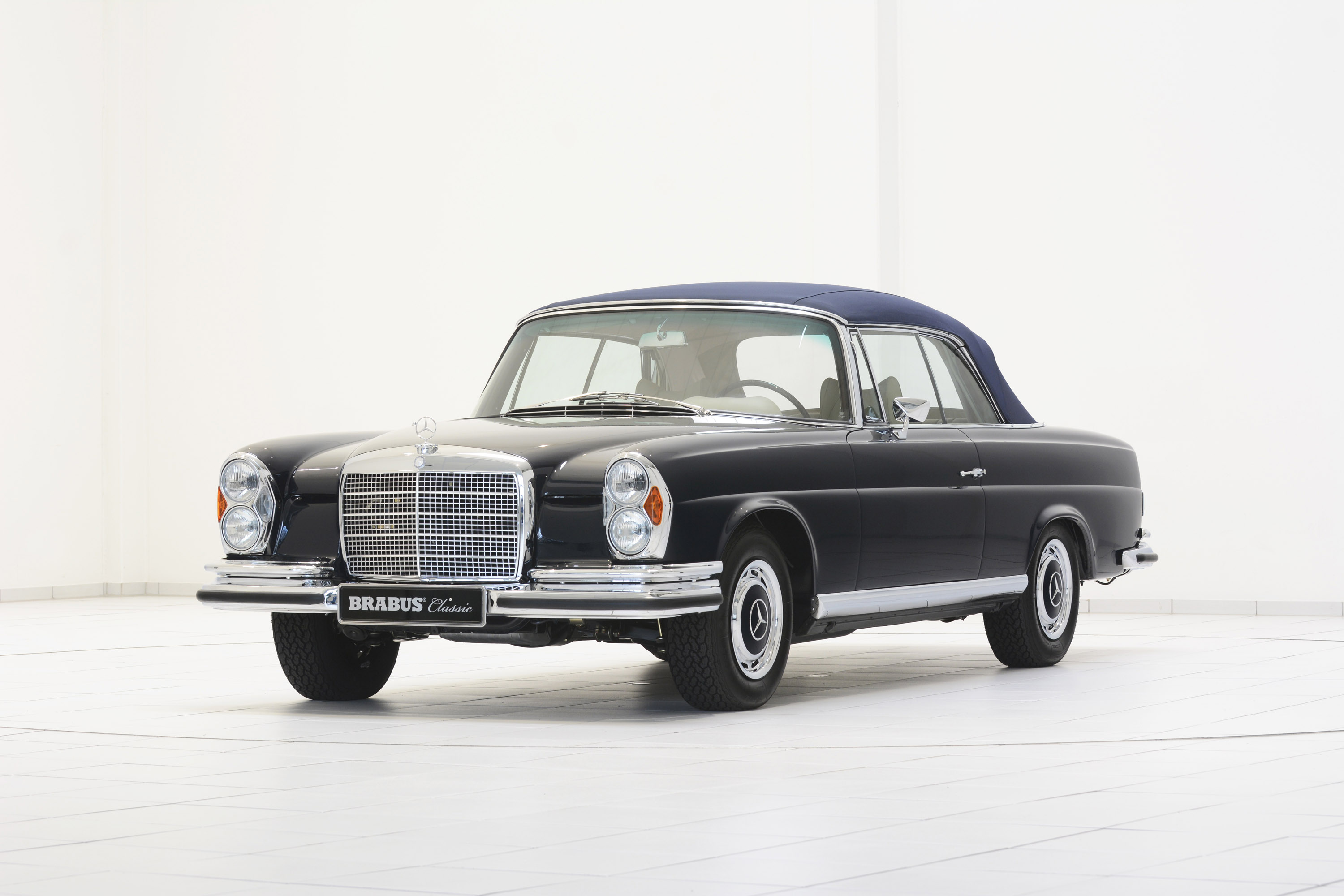 Brabus classic mercedes benz 280 se 3 5 cabriolet w111 for Mercedes benz of cleveland