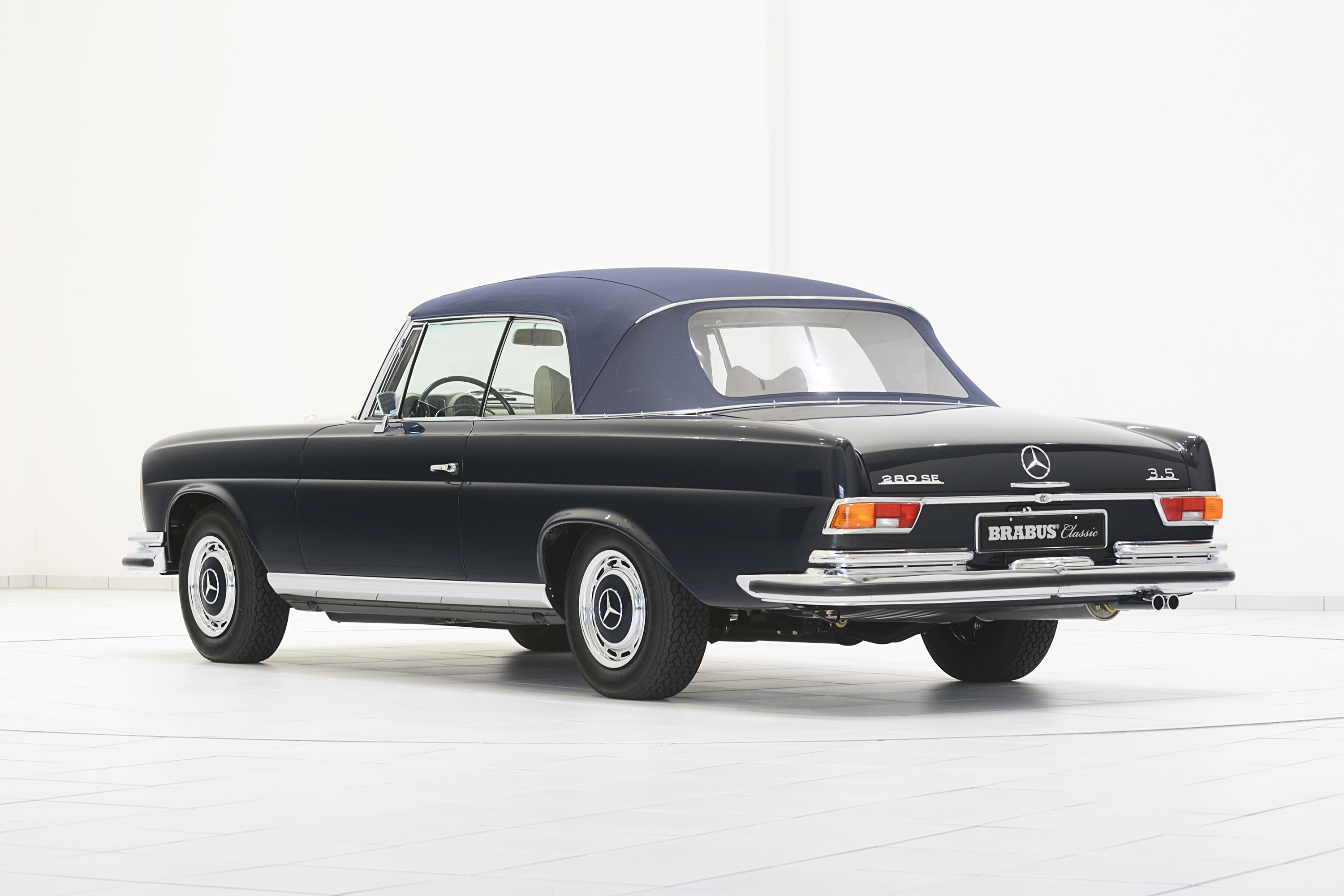 brabus classic mercedes benz 280 se 3 5 cabriolet w111 picture 104957. Black Bedroom Furniture Sets. Home Design Ideas