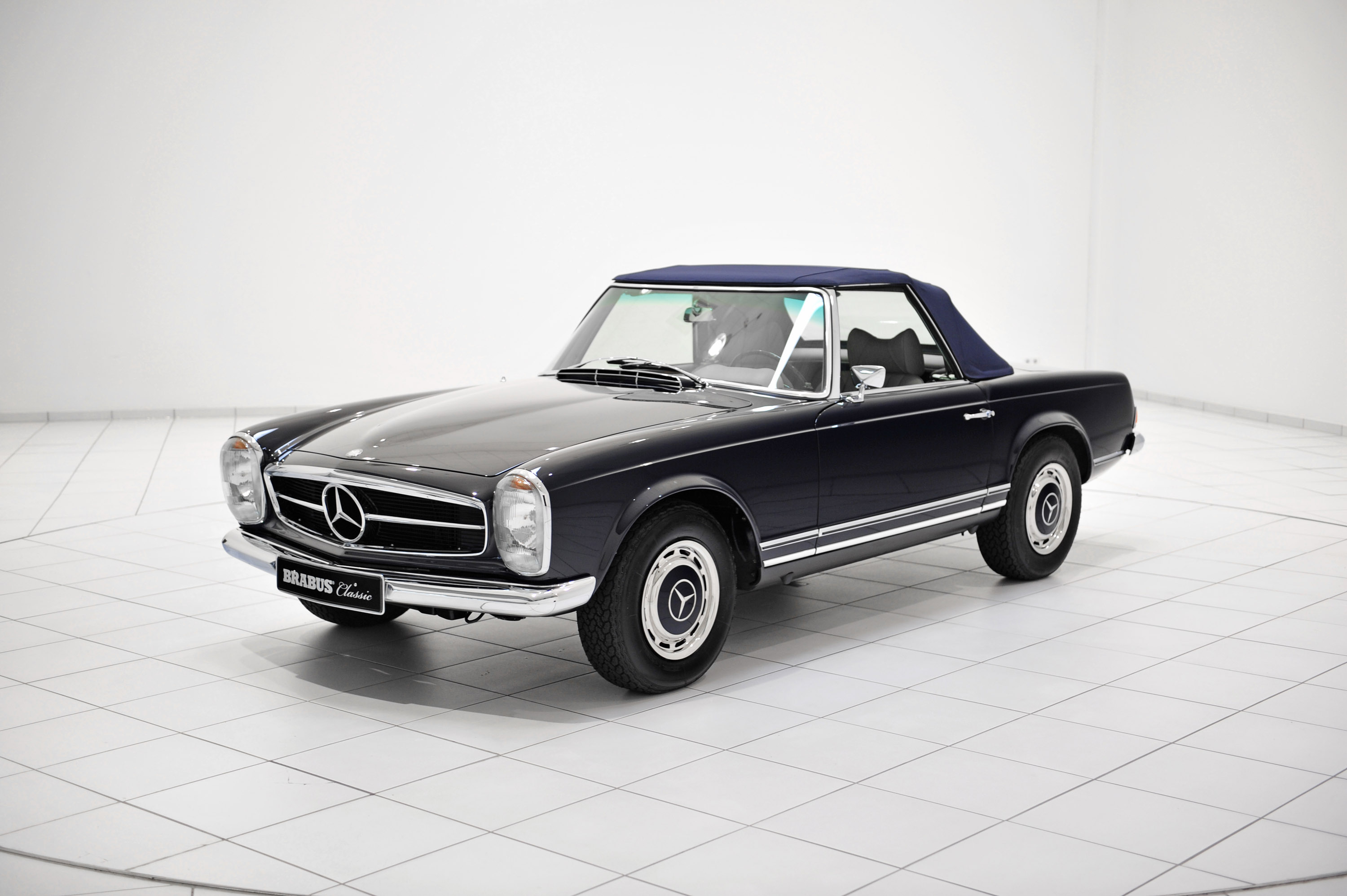 Brabus classic mercedes benz 280 sl pagoda w 113 picture for Mercedes benz 280sl pagoda