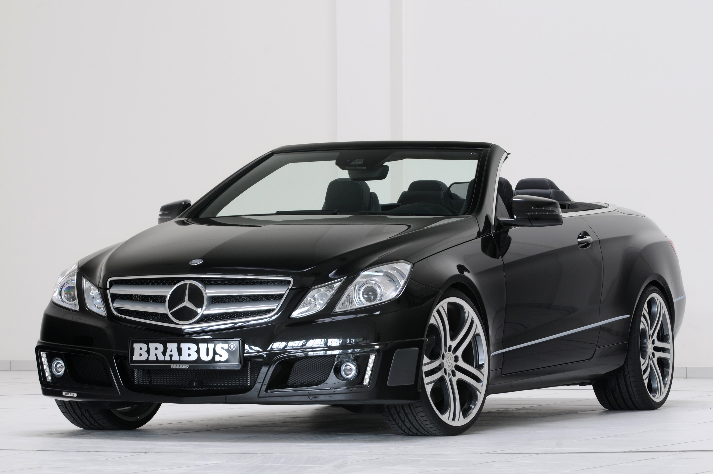 brabus shows program for the new e class cabrio. Black Bedroom Furniture Sets. Home Design Ideas