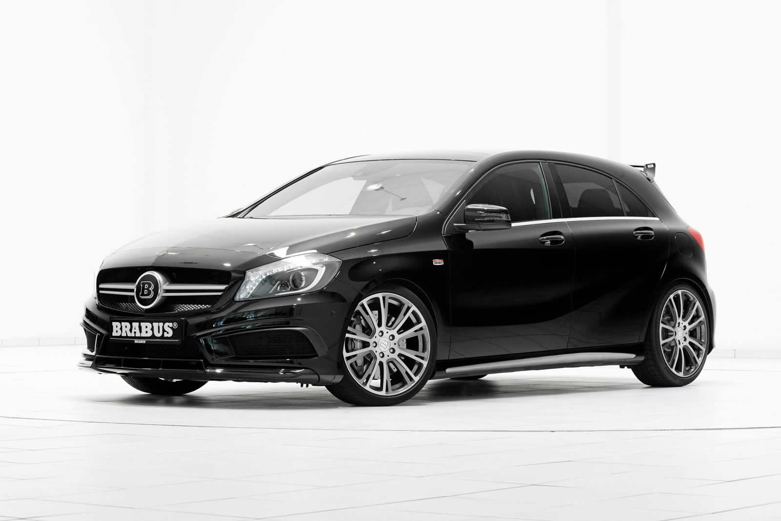 brabus mercedes benz a45 amg 400hp and 500nm. Black Bedroom Furniture Sets. Home Design Ideas