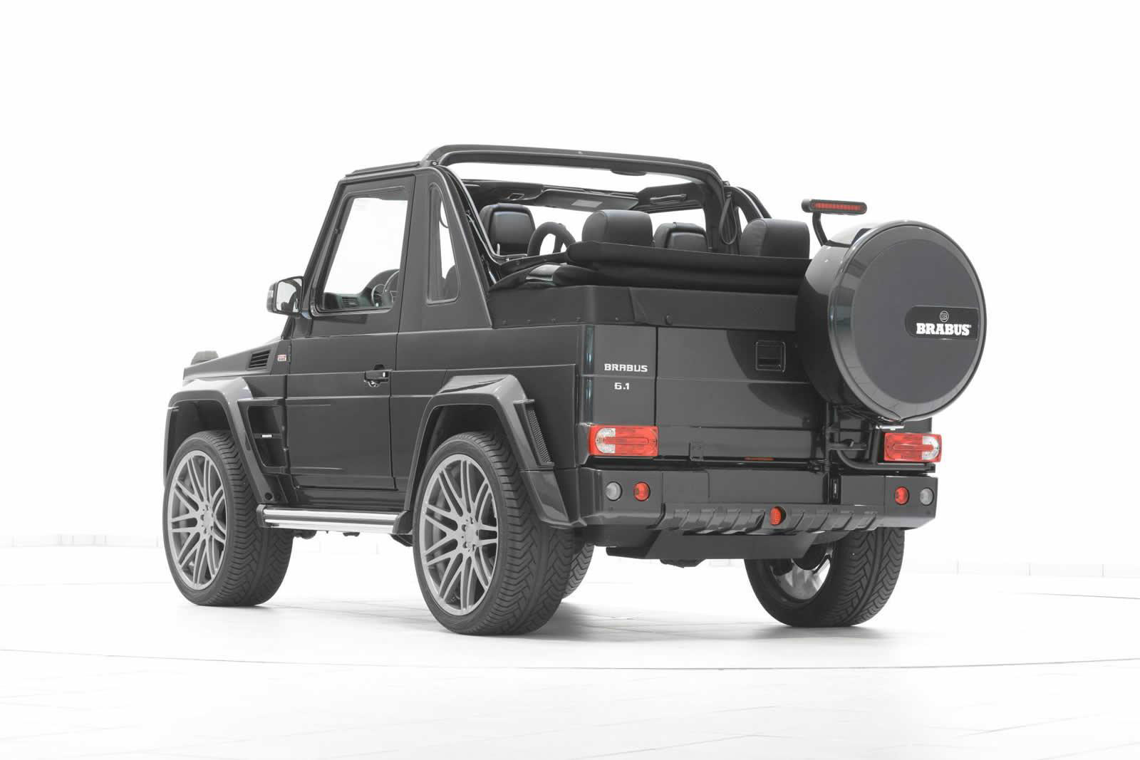 Brabus mercedes benz g500 convertible for Mercedes benz g class cabriolet