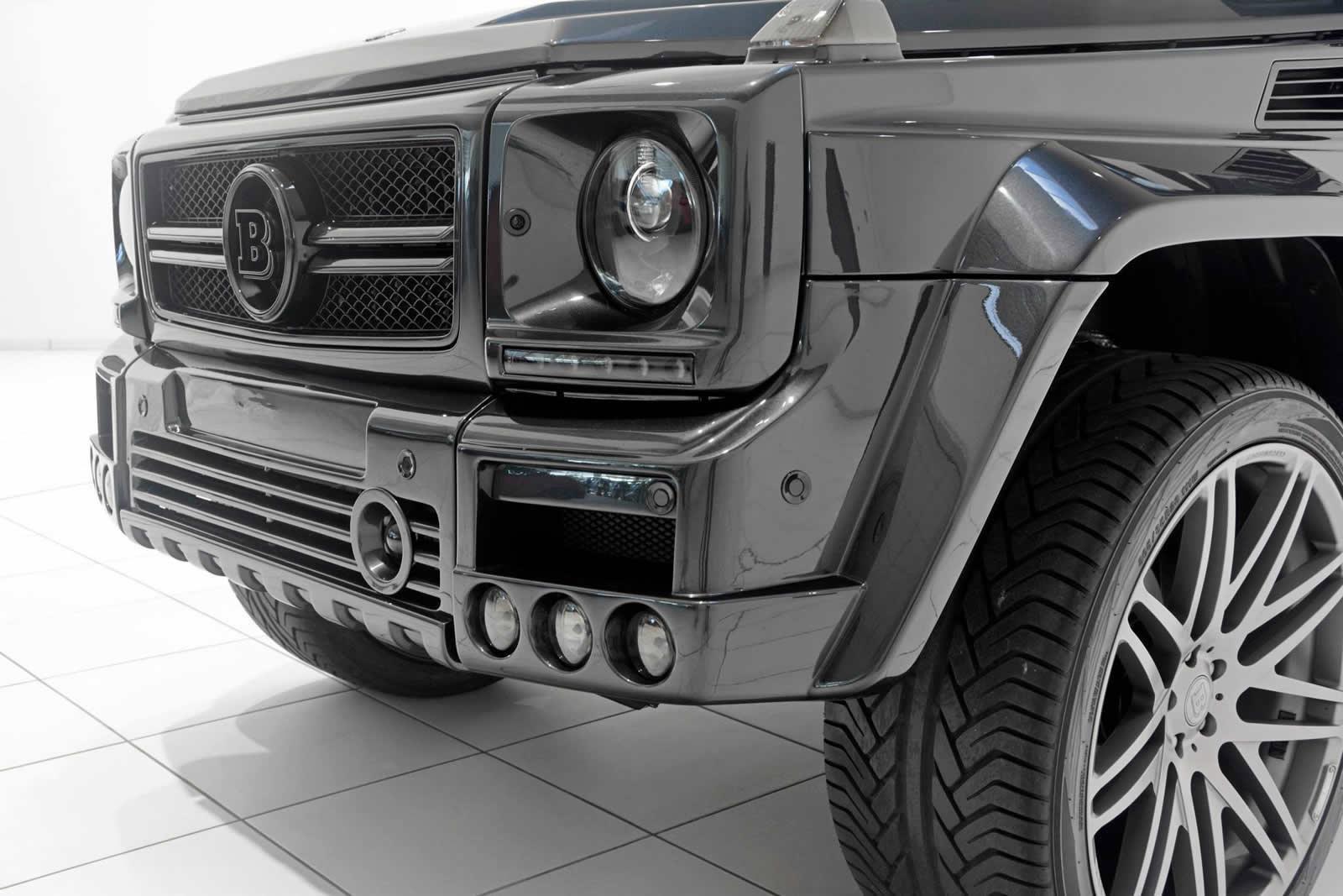 Brabus Mercedes Benz G500 Convertible