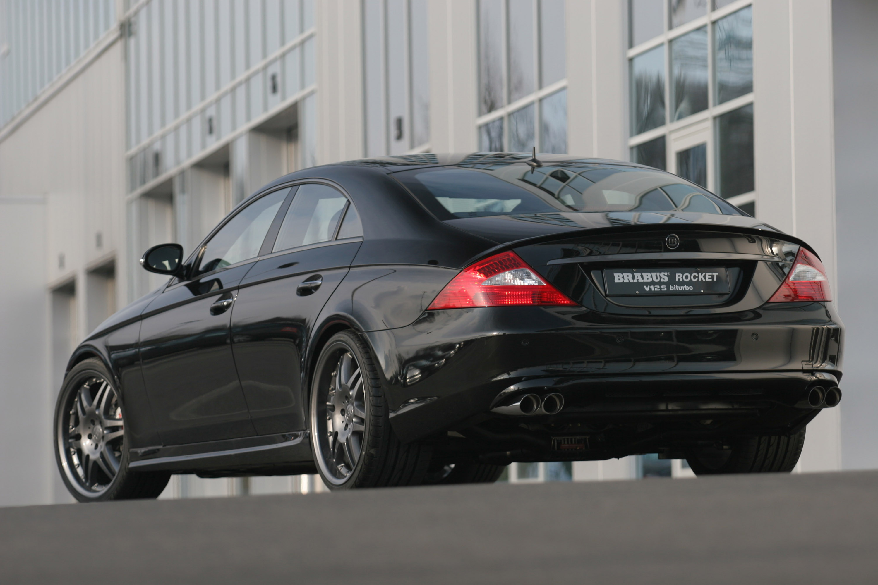 Toyota Ft 86 >> Brabus Rocket Mercedes-Benz CLS - Picture 57995