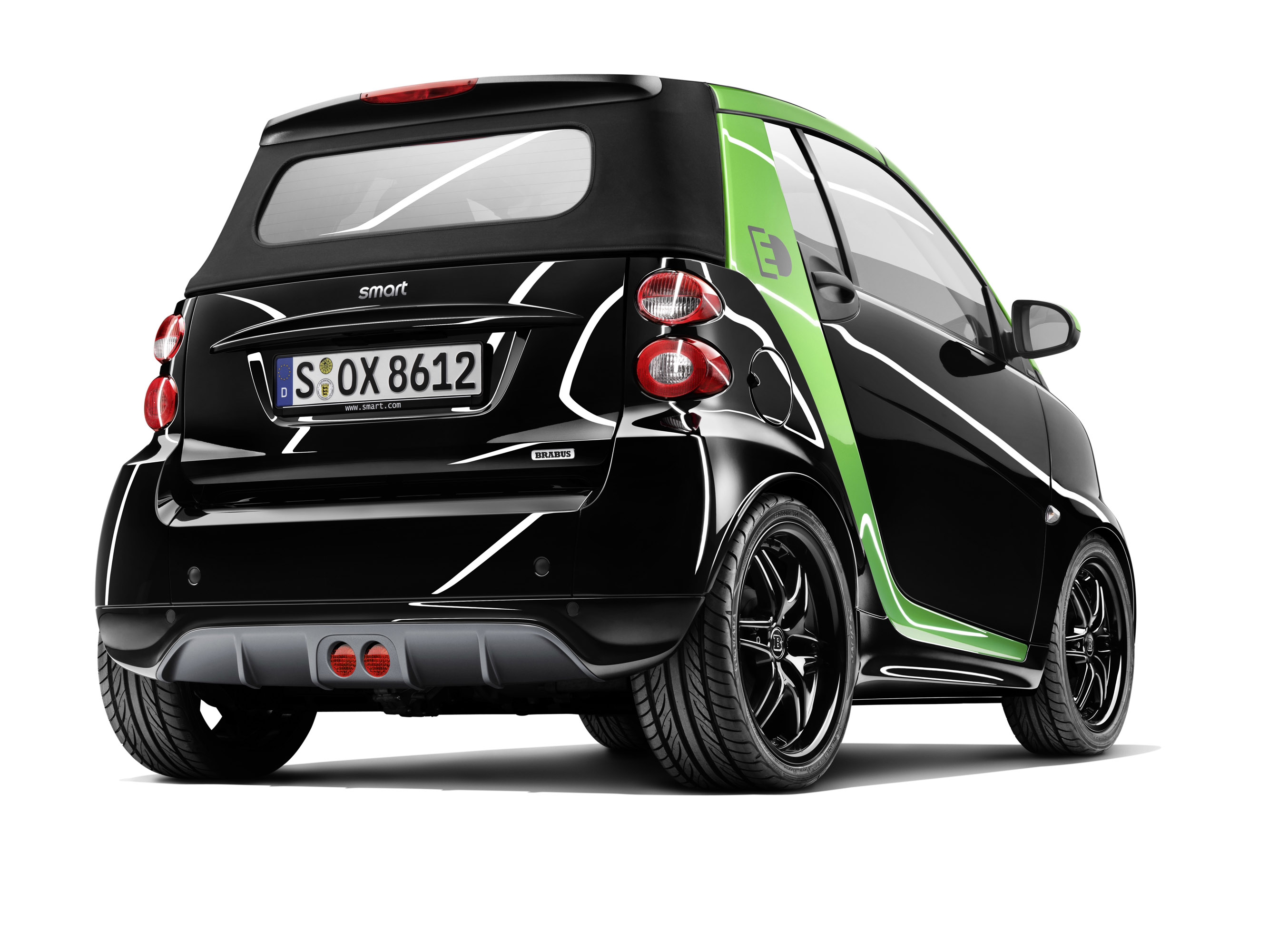 brabus smart electric drive and smart ebike. Black Bedroom Furniture Sets. Home Design Ideas