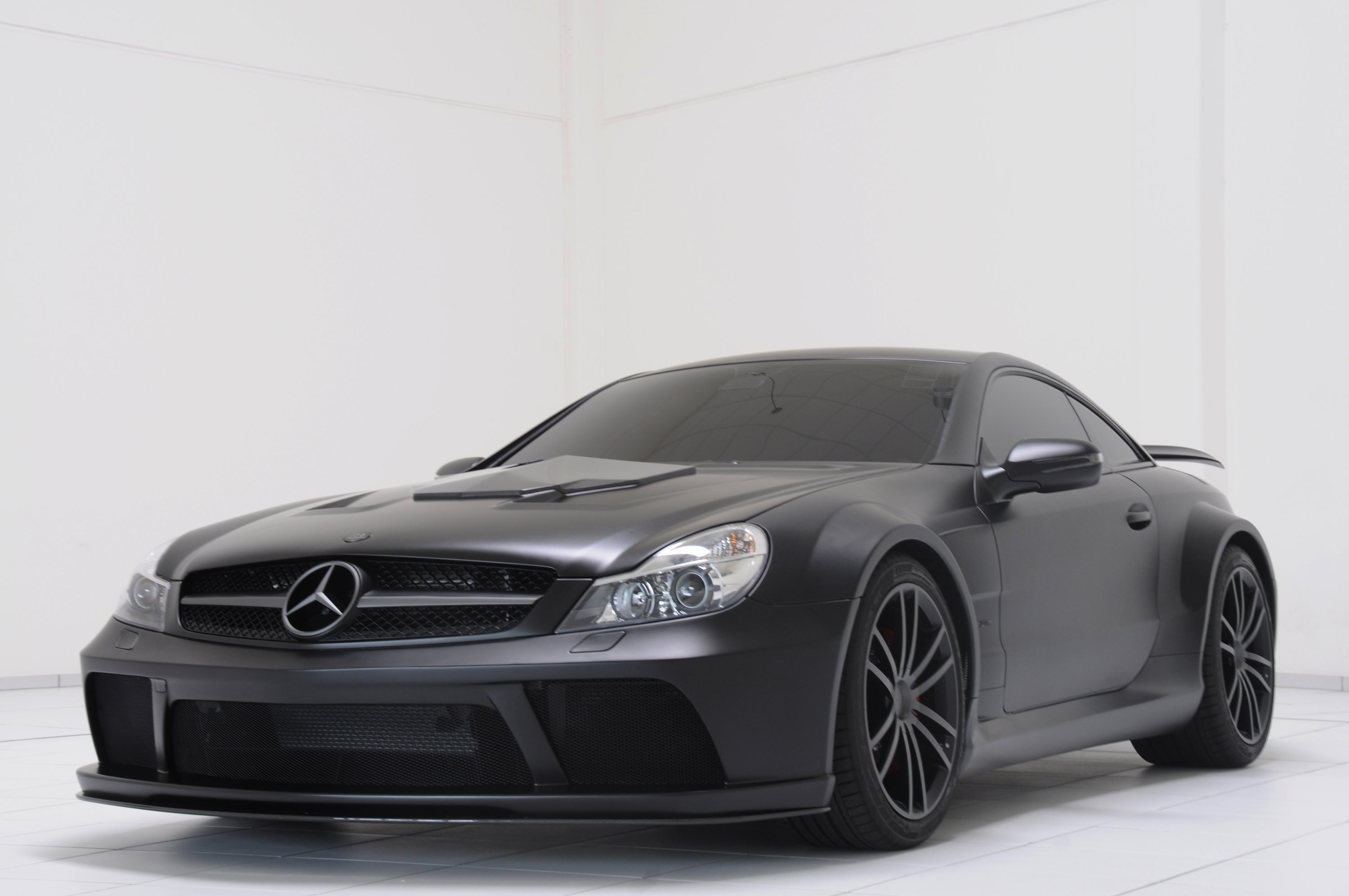 Brabus t65 rs mercedes benz sl 65 amg black series for Mercedes benz series