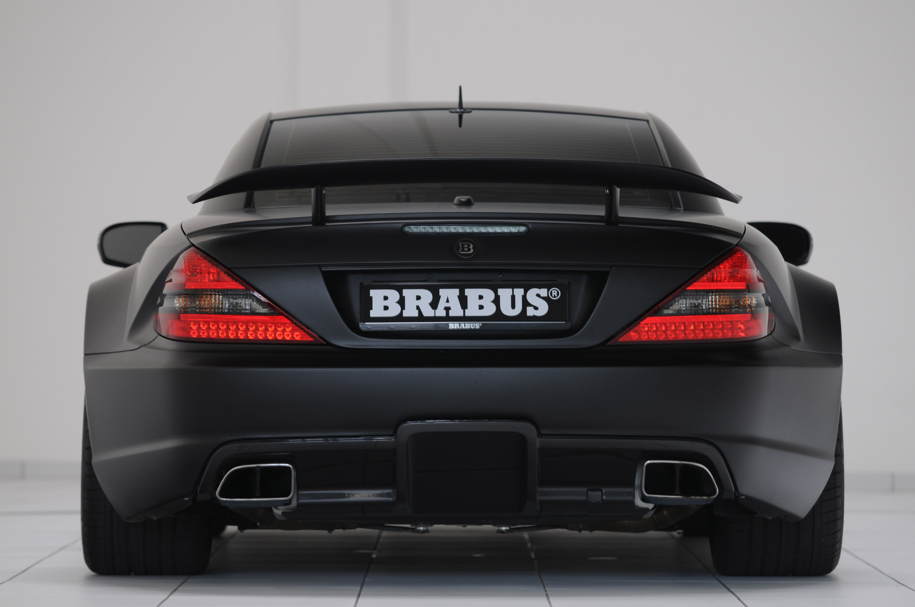 Brabus T65 Rs Mercedes Benz Sl 65 Amg Black Series