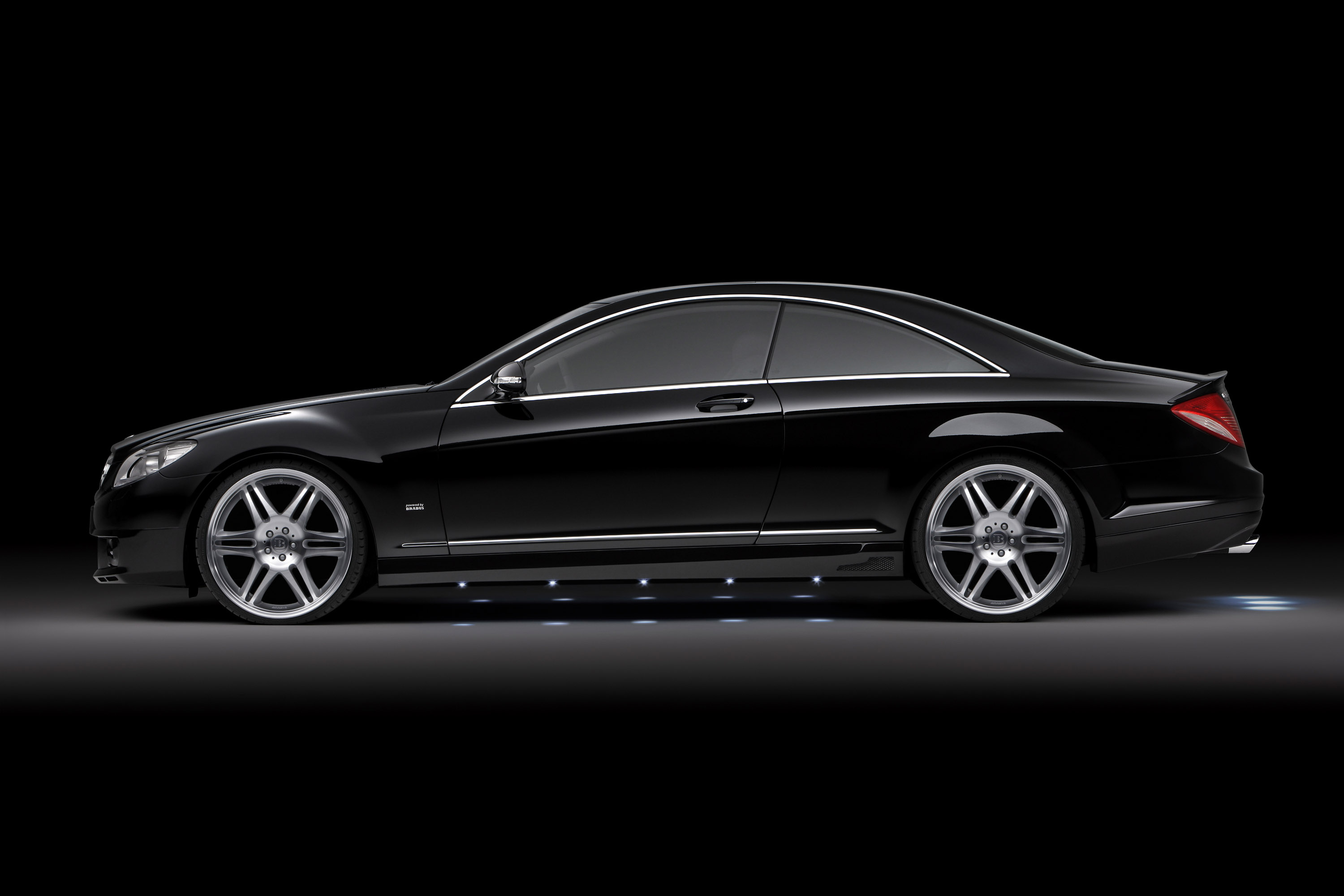 brabus 22 inch wheels and sport fenders for mercedes s. Black Bedroom Furniture Sets. Home Design Ideas