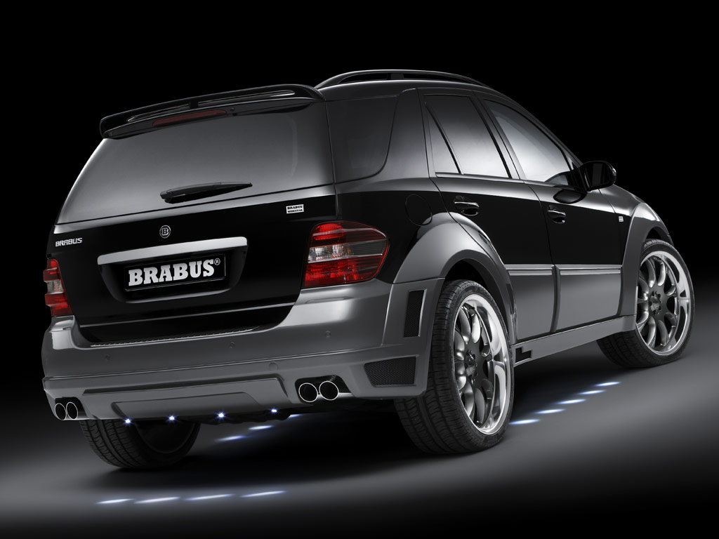 Brabus widestar mercedes benz ml 63 for High performance parts for mercedes benz