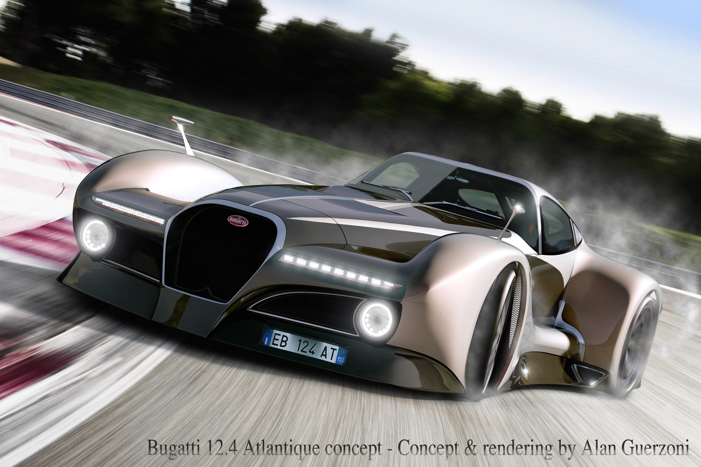 Bugatti 12 4 Atlantique Grand Sport Concept By Alan