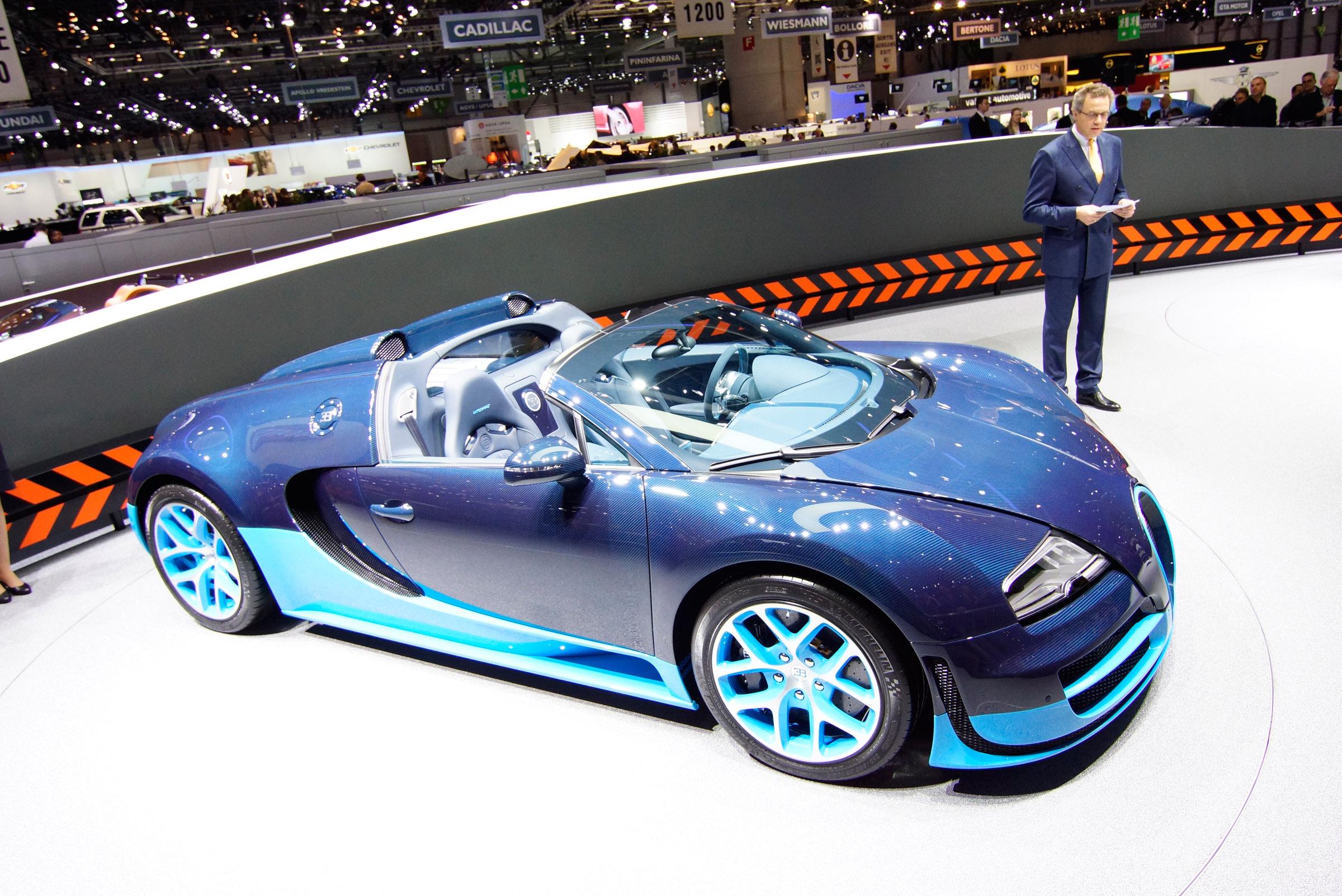 bugatti grand sport vitesse debut at geneva. Black Bedroom Furniture Sets. Home Design Ideas