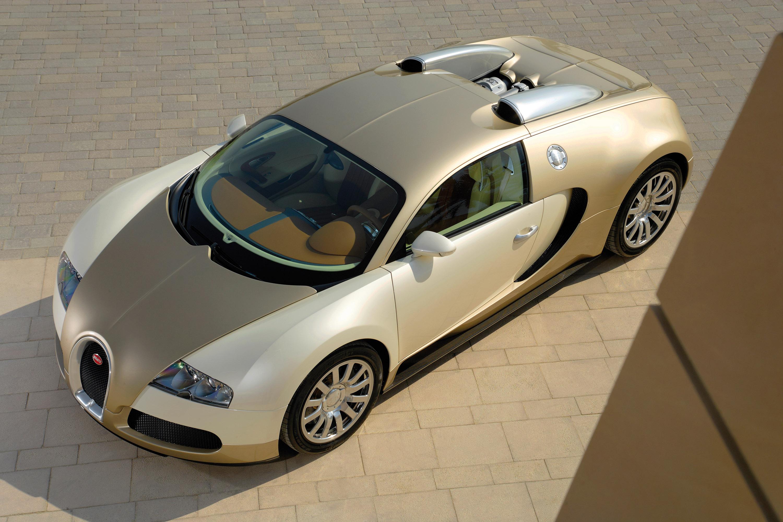 Bugatti Veyron Gold Colored Picture 16077