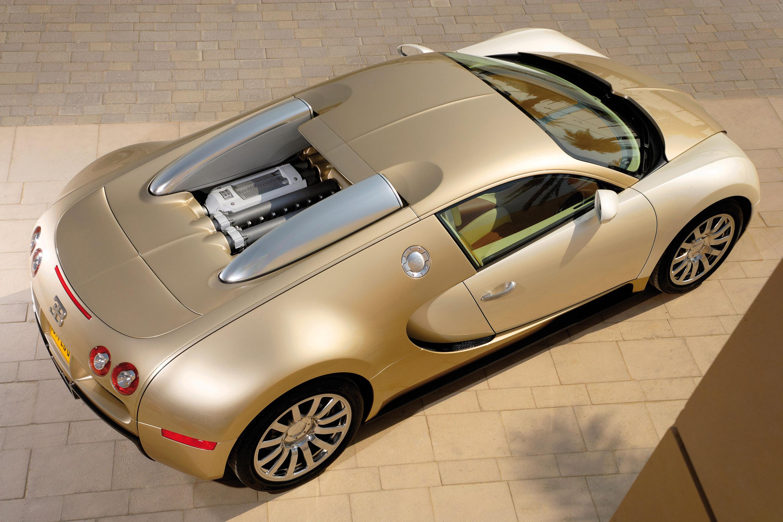 Bugatti Veyron Gold Colored Picture 16076