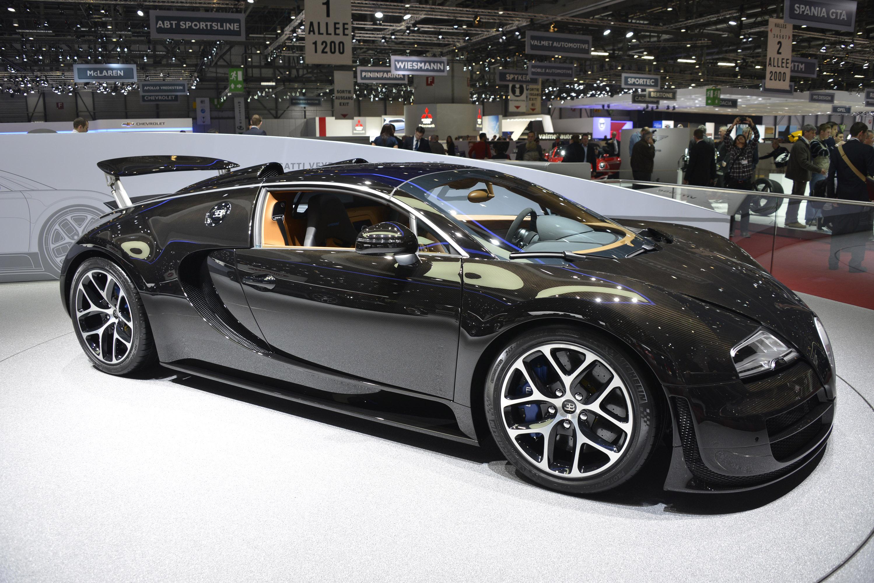 Bugatti Veyron Grand Sport Vitesse Geneva 2013 Picture 82357