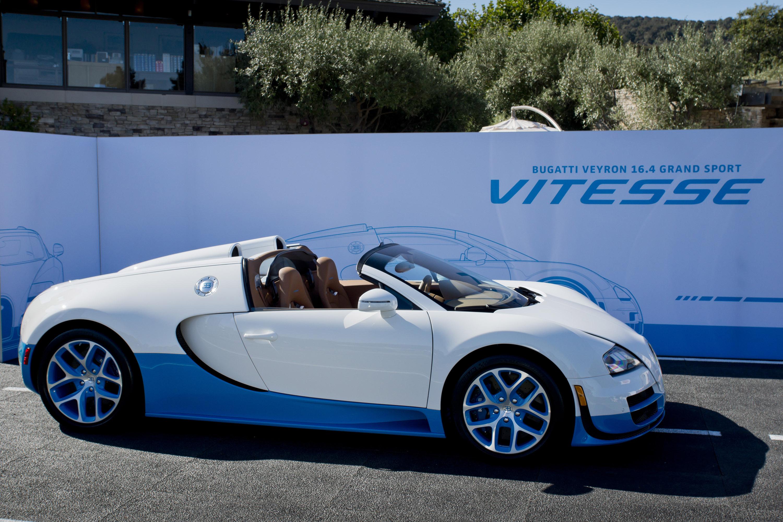 Bugatti Veyron 16 4 Grand Sport Vitesse Debuts At The 2013