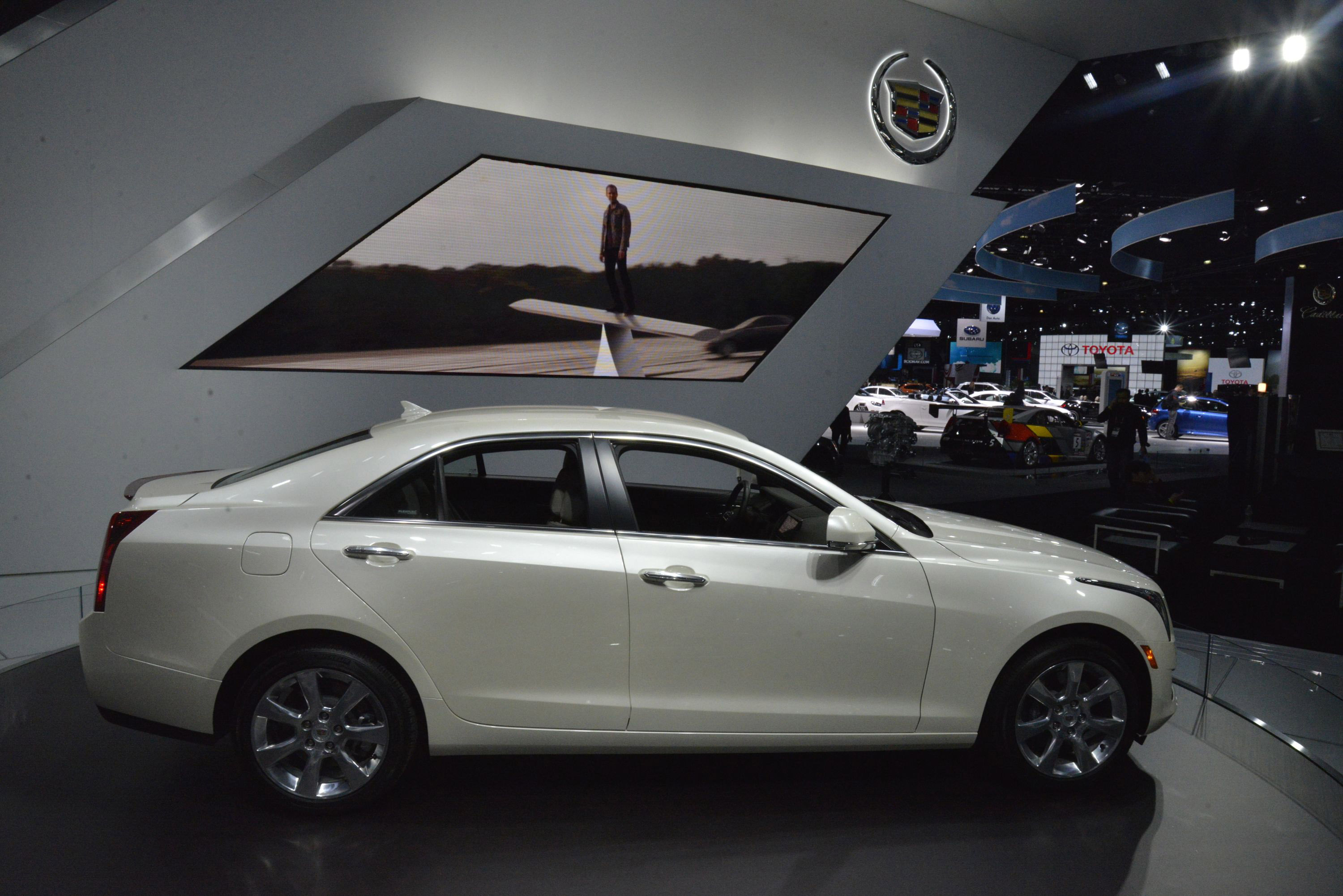 Cadillac Ats Los Angeles 2012 Picture 78215