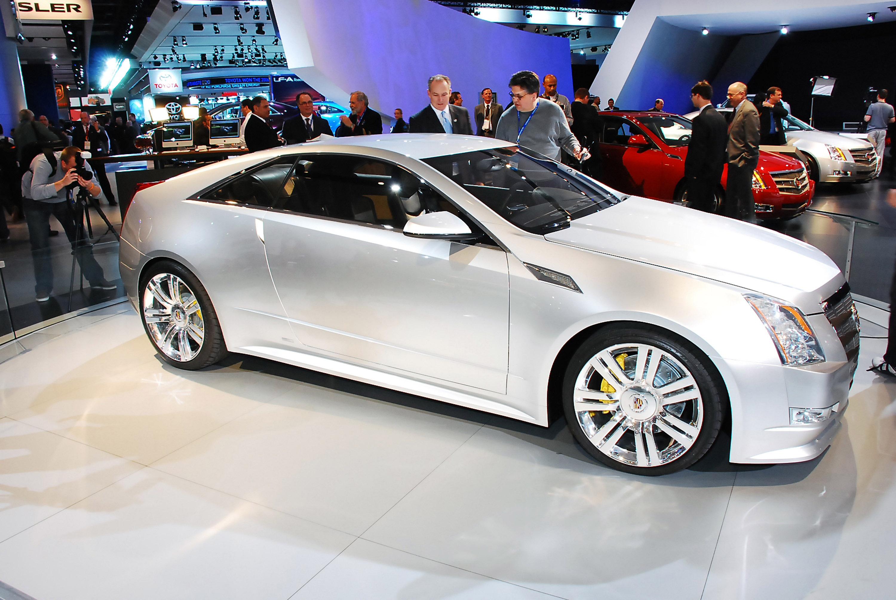 Cadillac CTS Coupe Detroit 2008 - Picture 47526