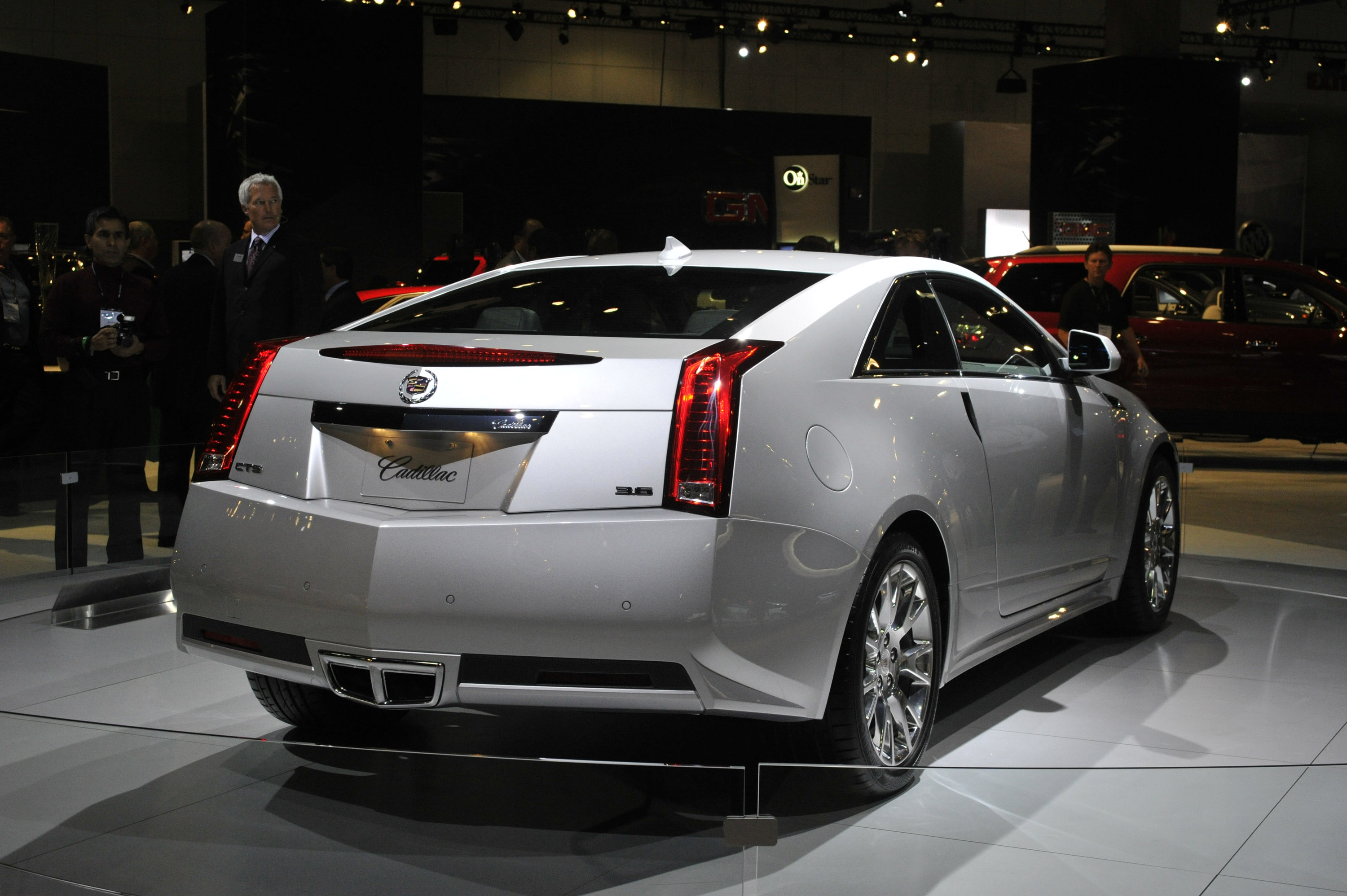 Cadillac CTS Coupe Los Angeles 2009 - Picture 45769