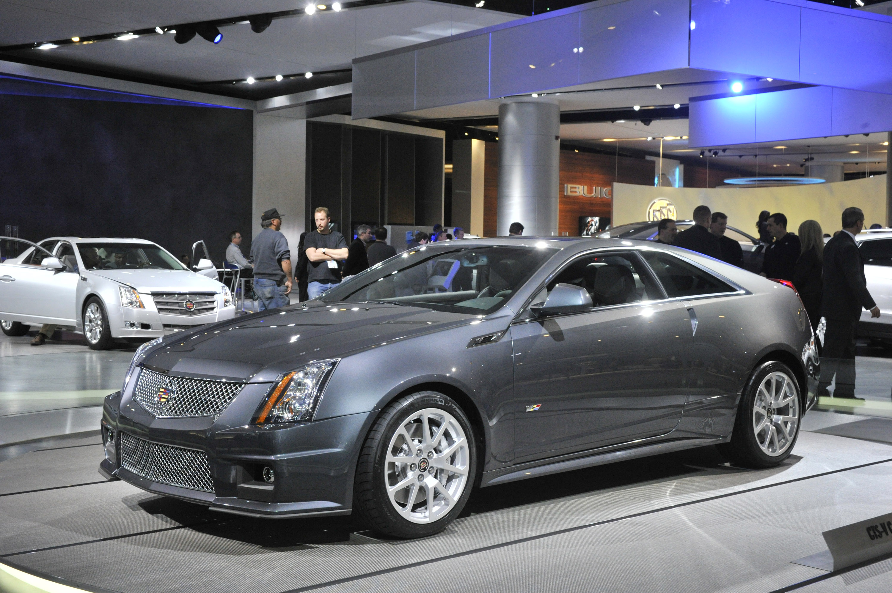 2010 Cadillac Cts V Coupe Detroit Picture 30205