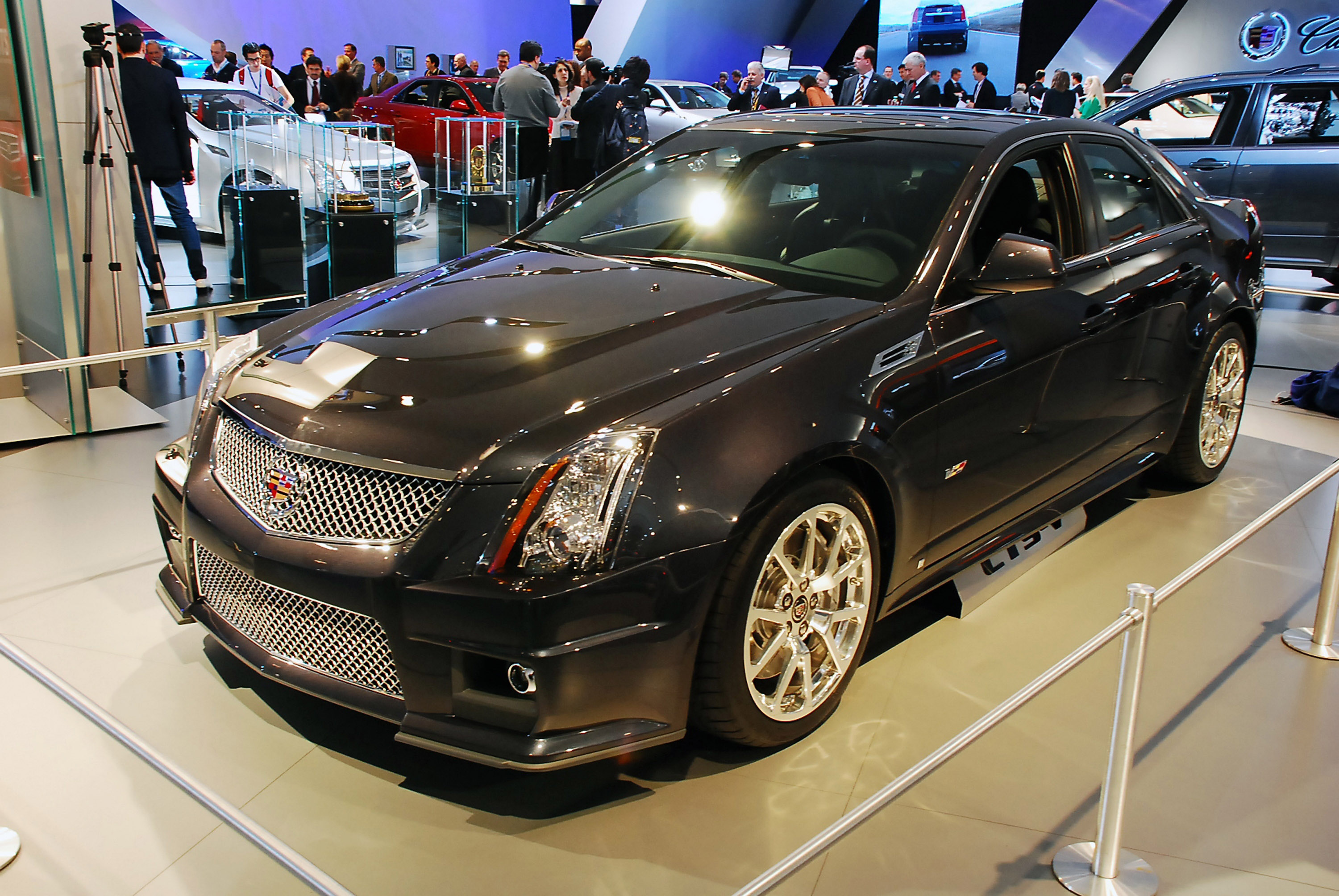 Cadillac Cts V Detroit 2008 Picture 47528
