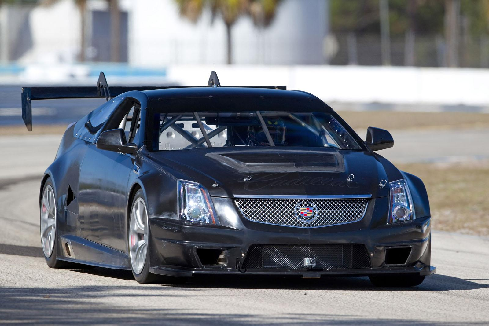 Cadillac Cts V Racing Coupe Video