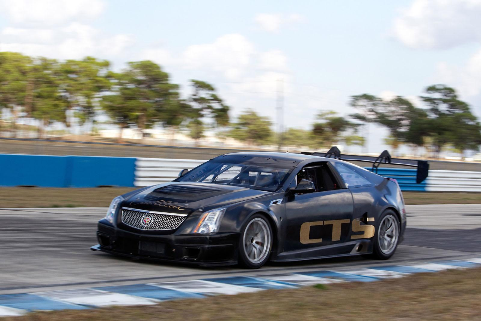 Cadillac Cts V Racing Coupe Picture 51310