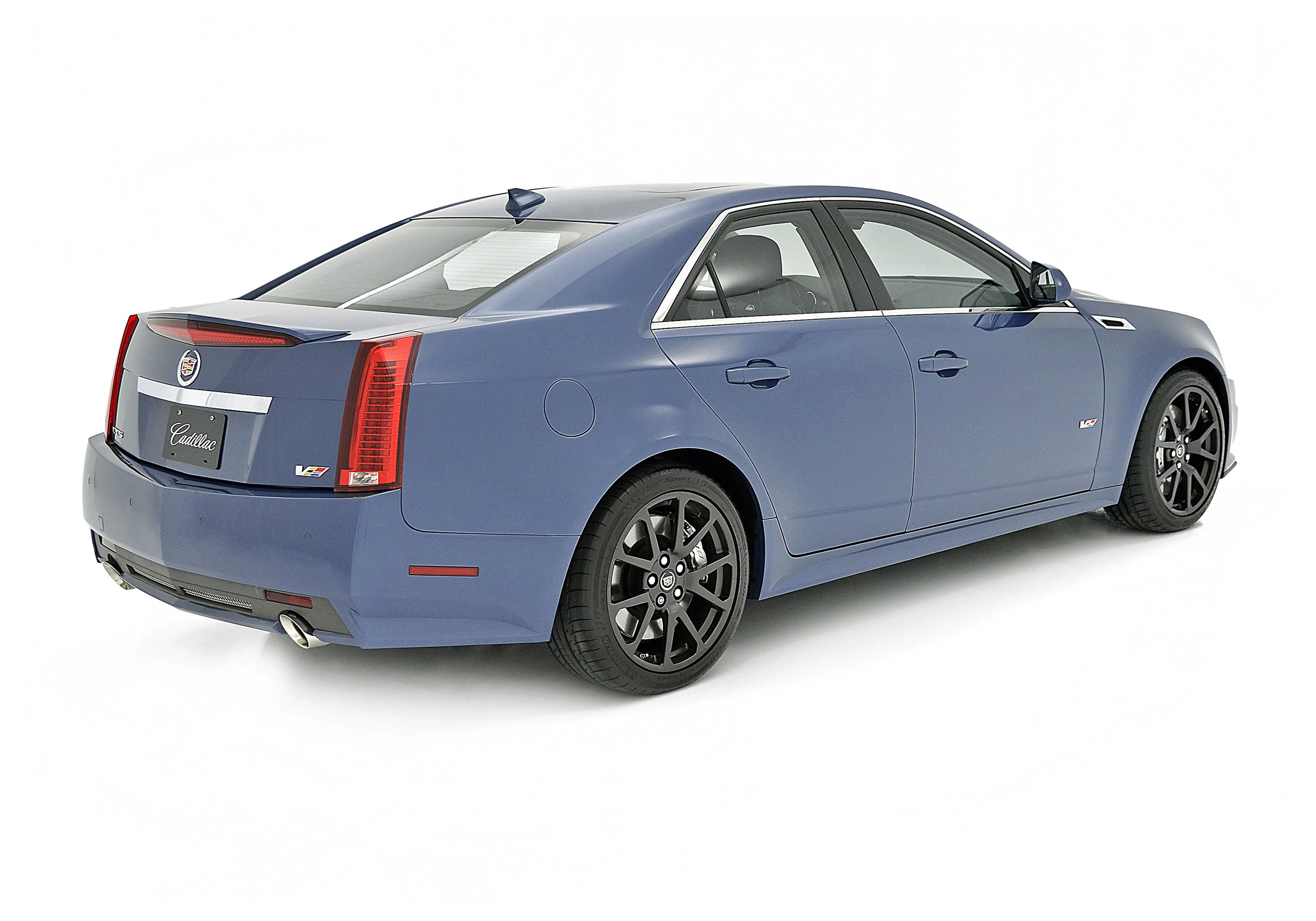 Cadillac Cts V Stealth Blue Picture 81082