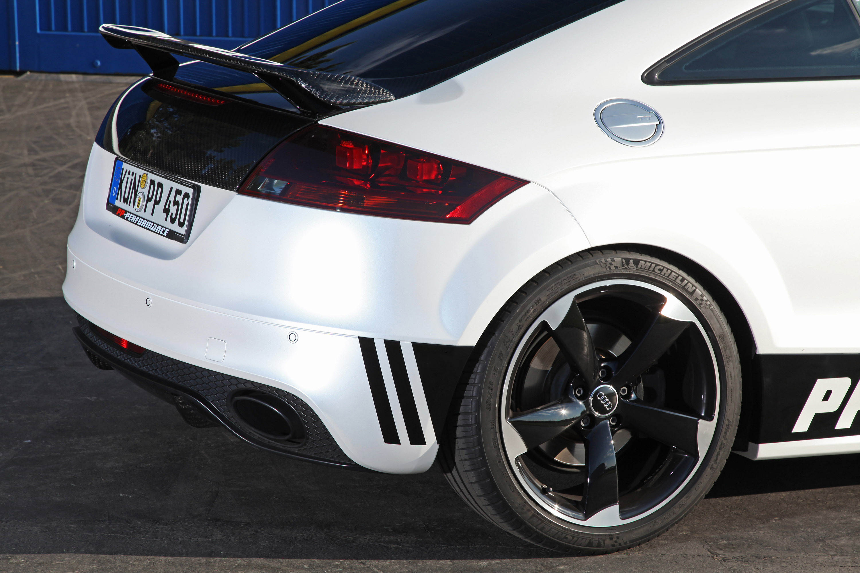 2013 Audi Tt Rs Black And White Edition By Pp Performance Top Speed