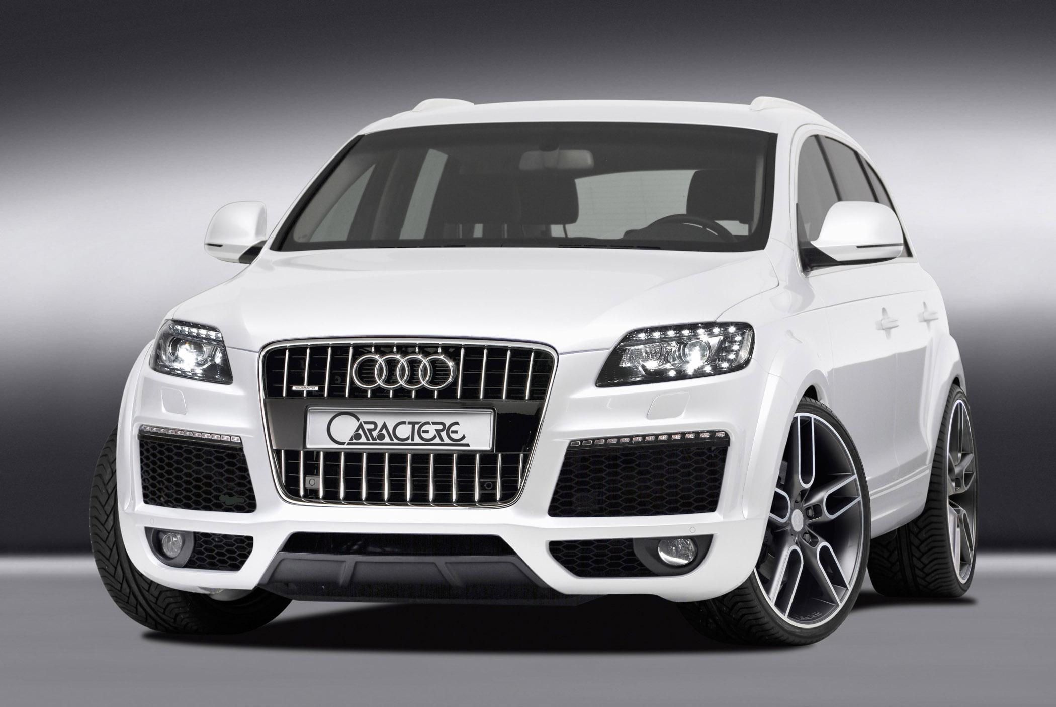 CARACTERE Audi Q Facelift - Audi q series cars