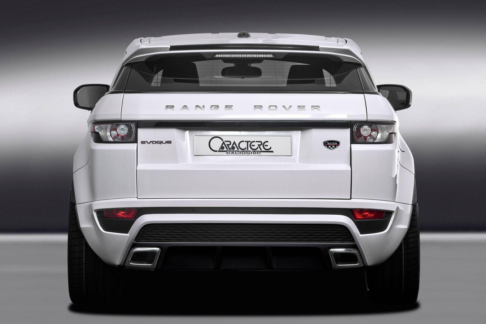 Range Rover Evoque Convertible >> Range Rover Evoque by Caractere