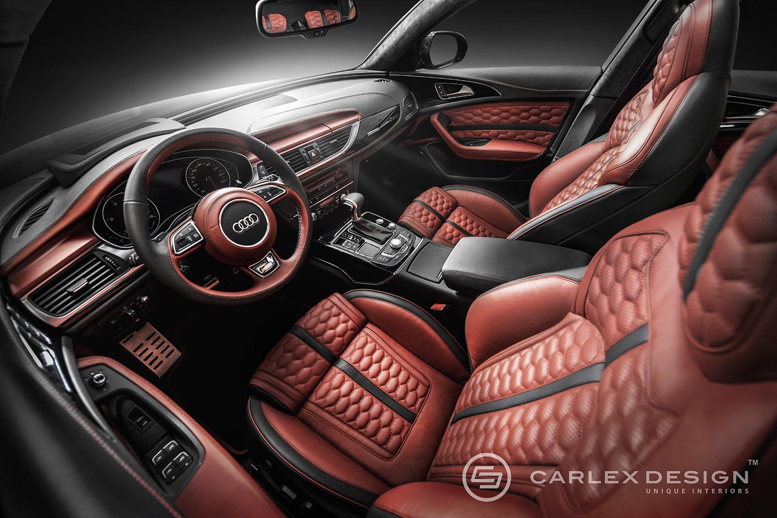 Audi A6 Honeycomb Punchy Stylish Dazzling