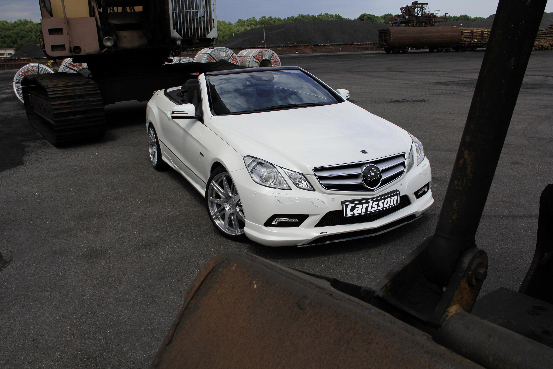 Carlsson Mercedes Benz E Class Cabriolet