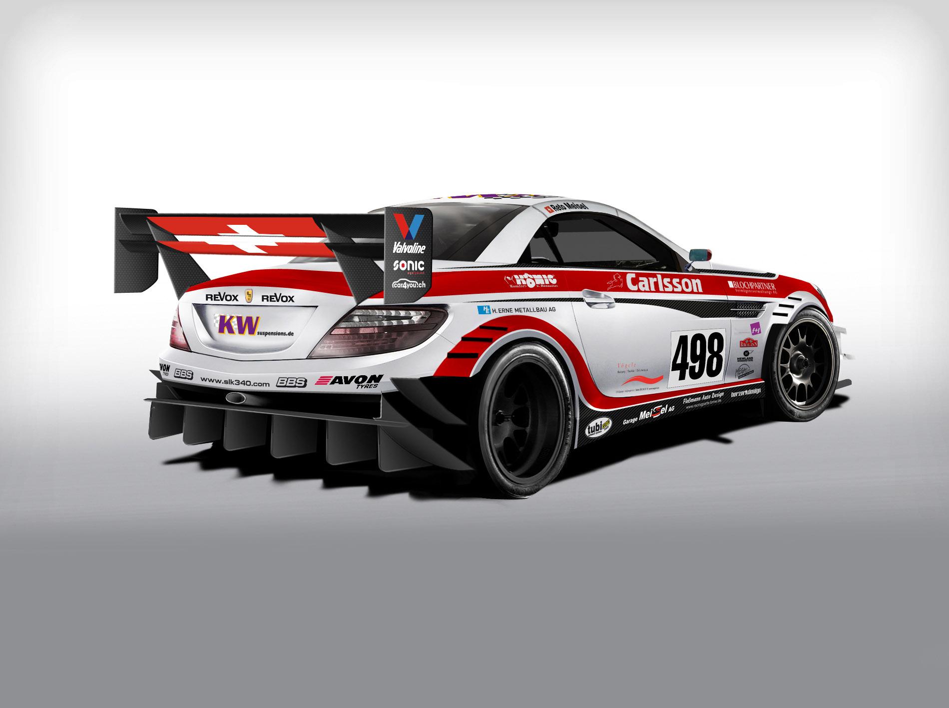 Carlsson Mercedes-Benz SLK Race Car - Picture 80199