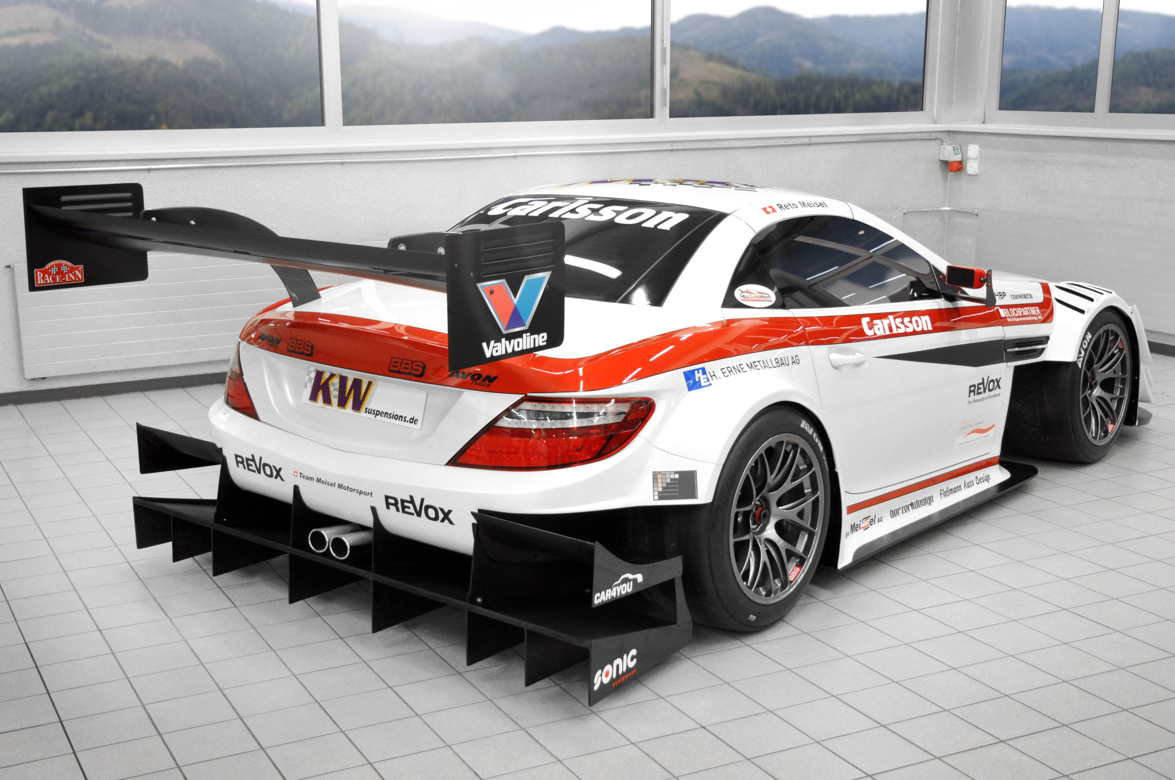 Carlsson mercedes benz slk race car for Mercedes benz race cars