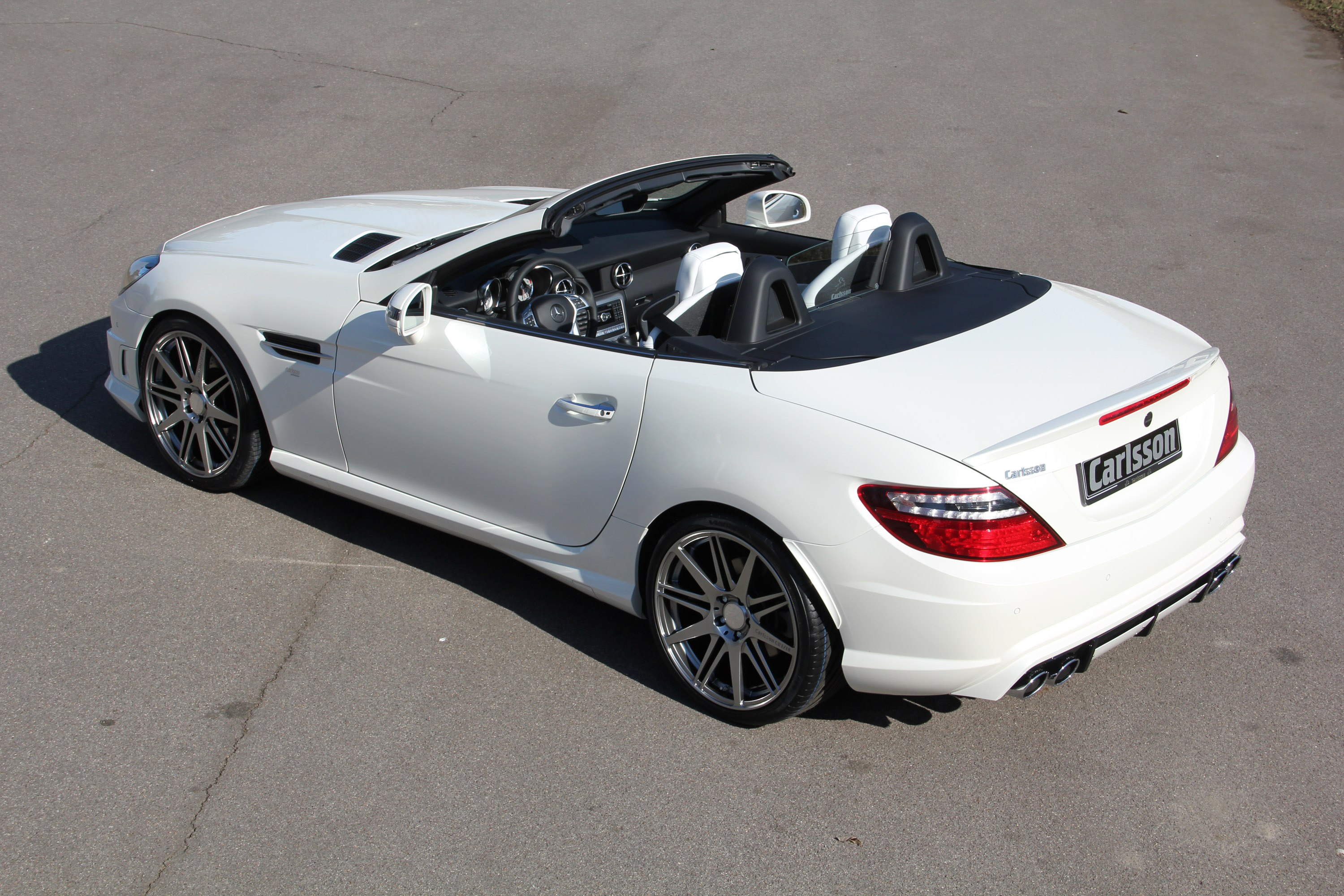 Mercedes benz slk by carlsson for Mercedes benz in ontario