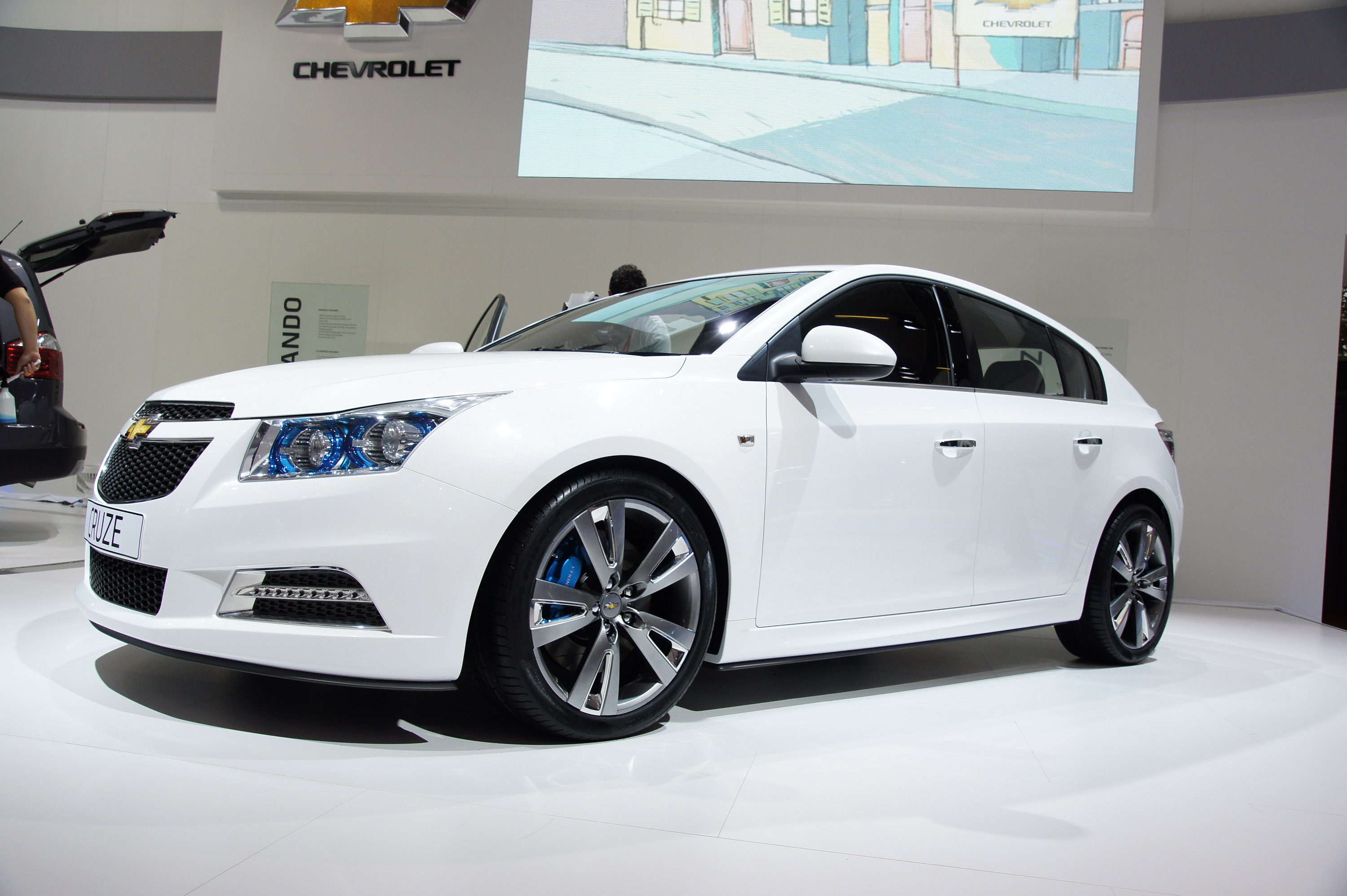 Chevrolet Cruze Paris 2010 Picture 43179