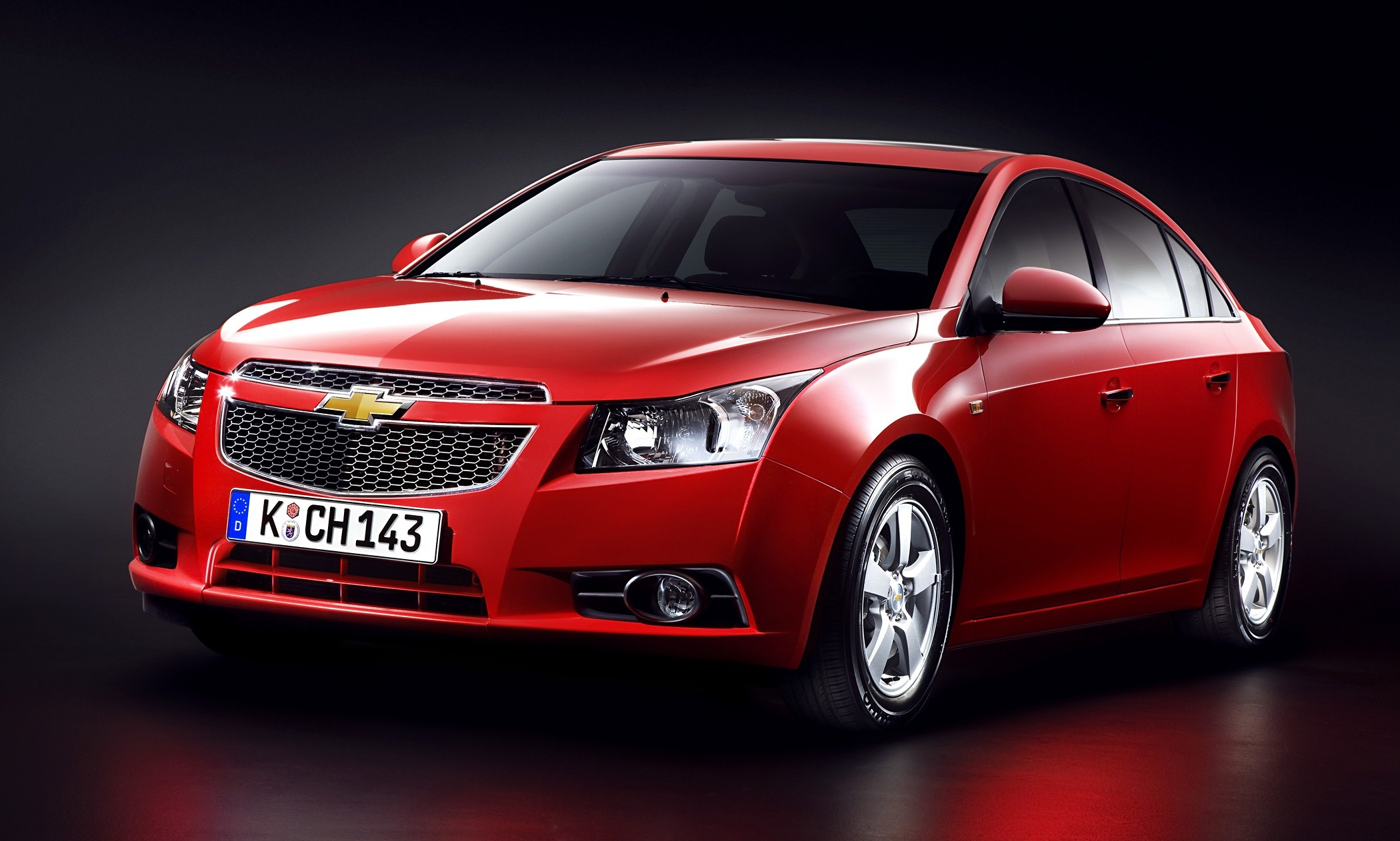 Chevrolet Cruze At 2009 Los Angeles International Auto Show