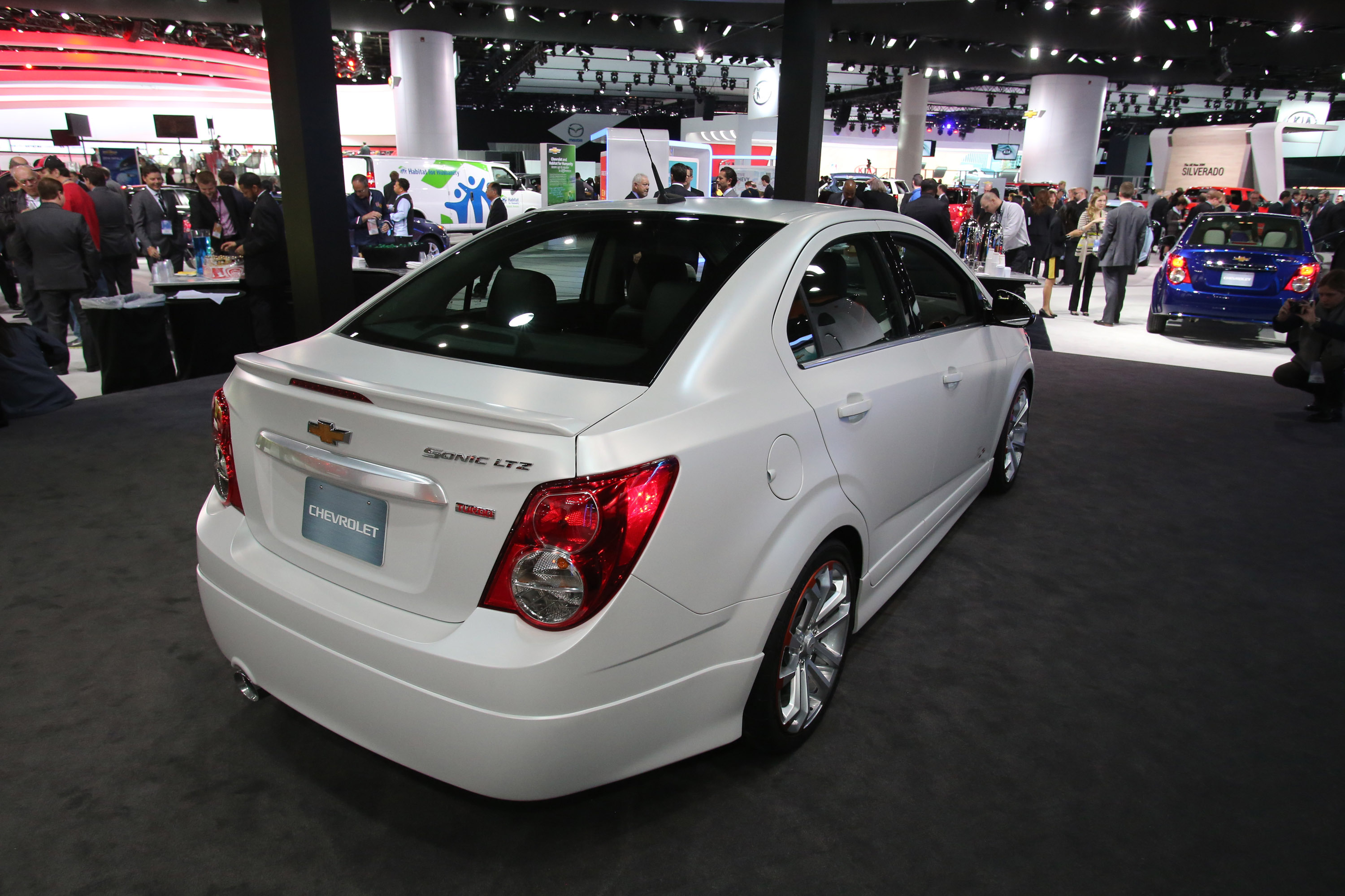 Chevrolet Sonic Ltz Turbo Detroit 2013 Picture 79715